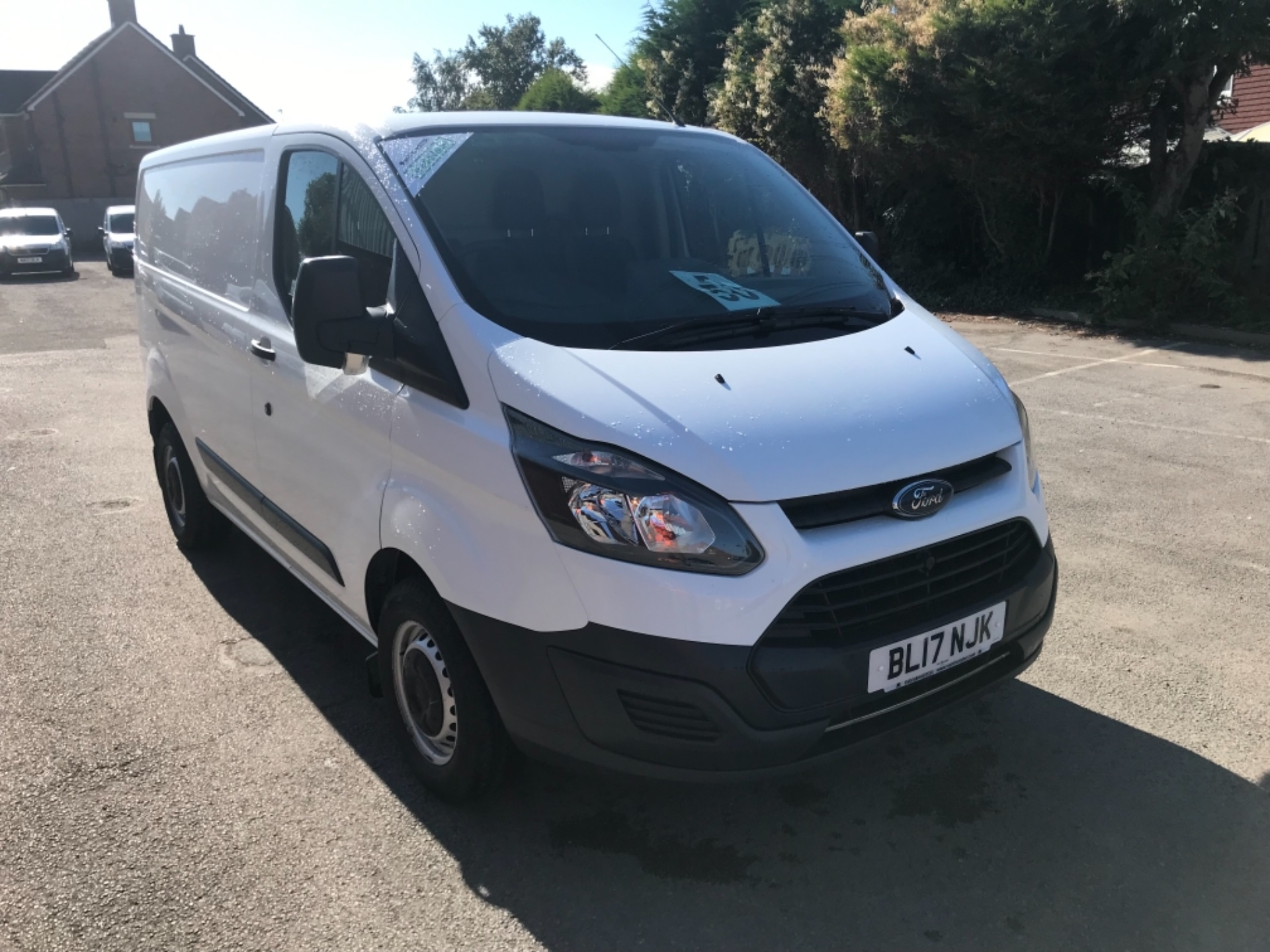 2017 Ford Transit Custom 2.0 Tdci 105Ps Low Roof Van EURO 6 (BL17NJK)