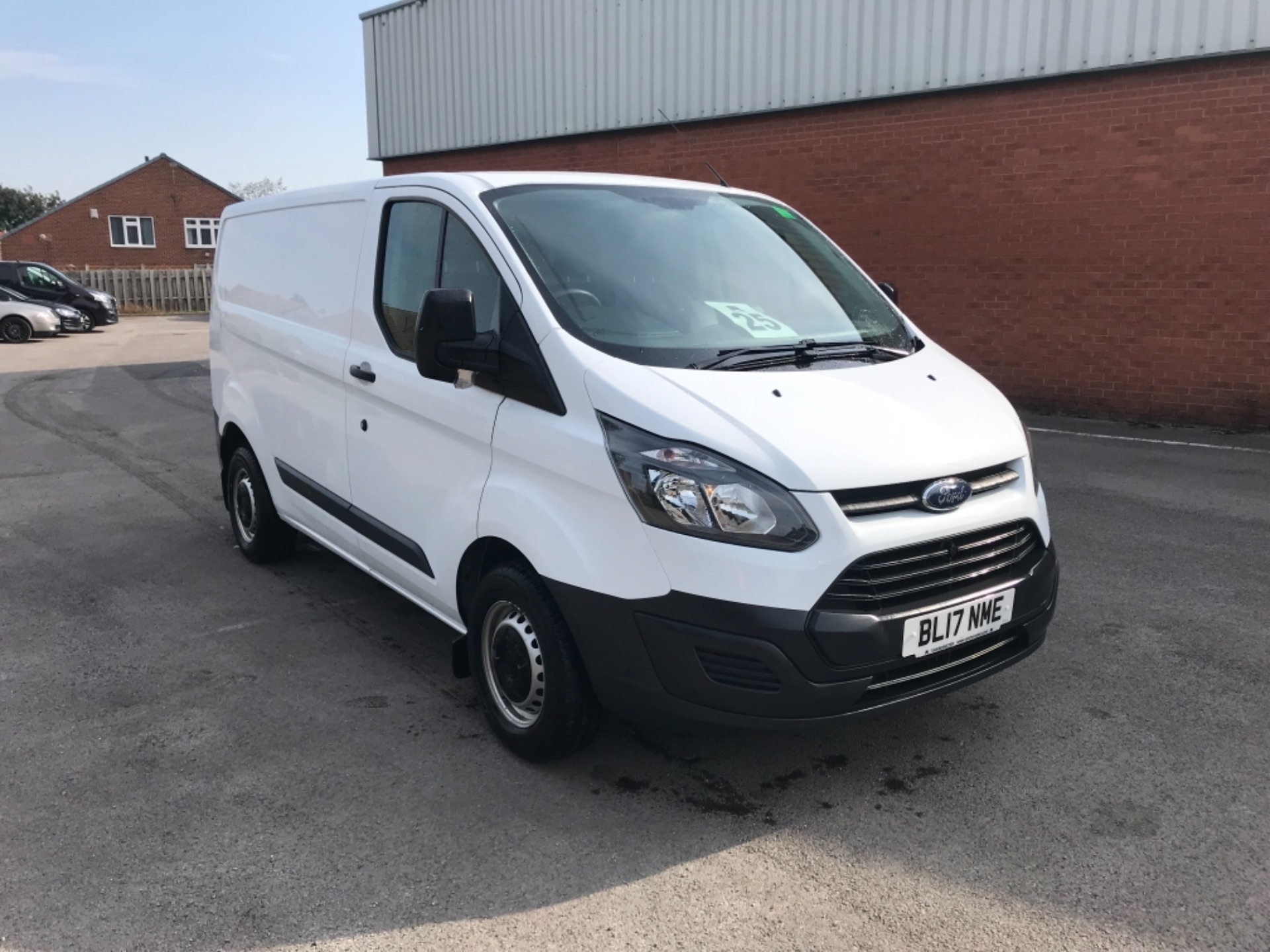 2017 Ford Transit Custom 2.0 Tdci 105Ps Low Roof Van EURO 6 (BL17NME)