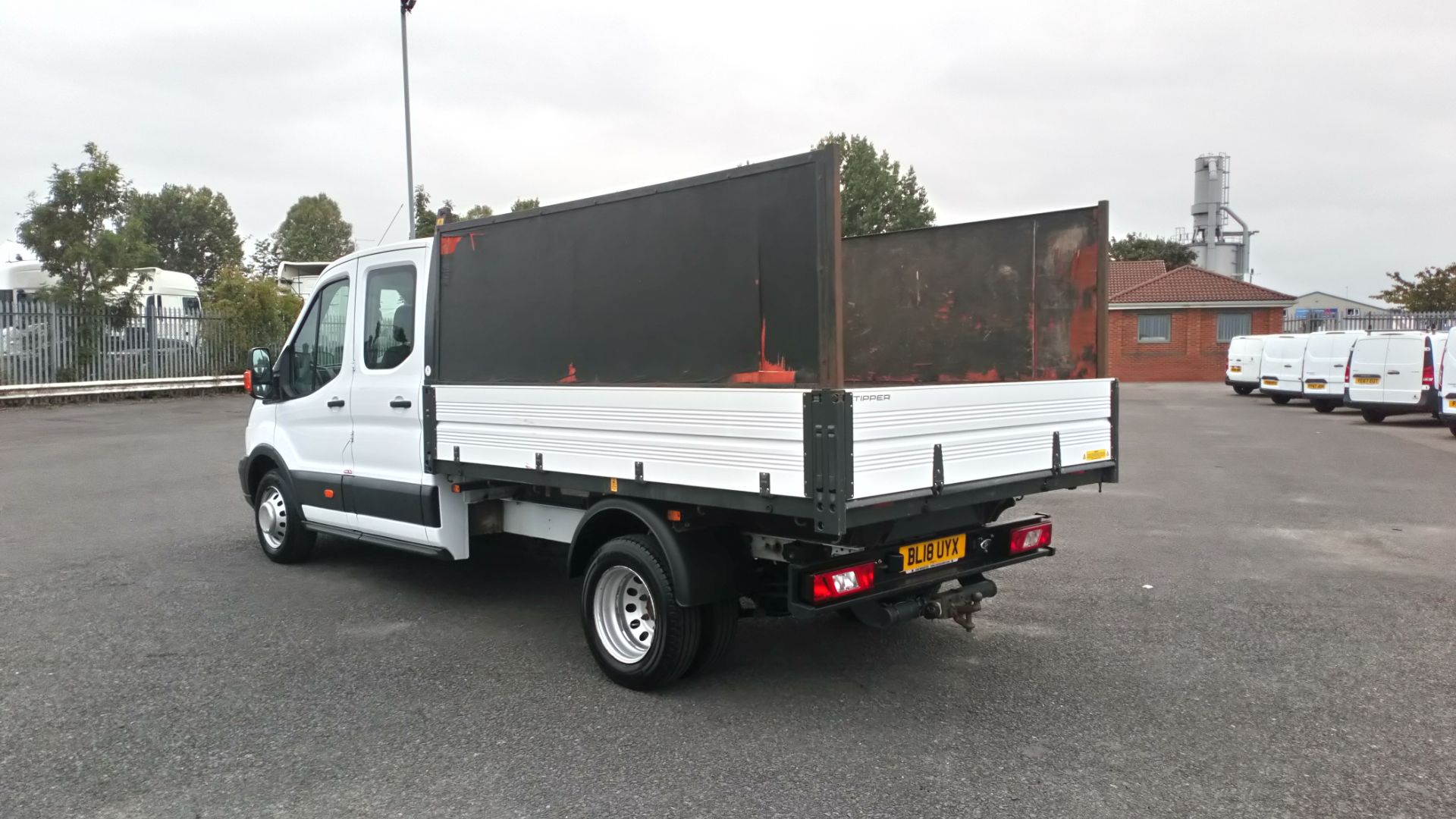 2018 Ford Transit 2.0 Tdci 130Ps H2 Double Cab Tipper (BL18UYX) Image 5