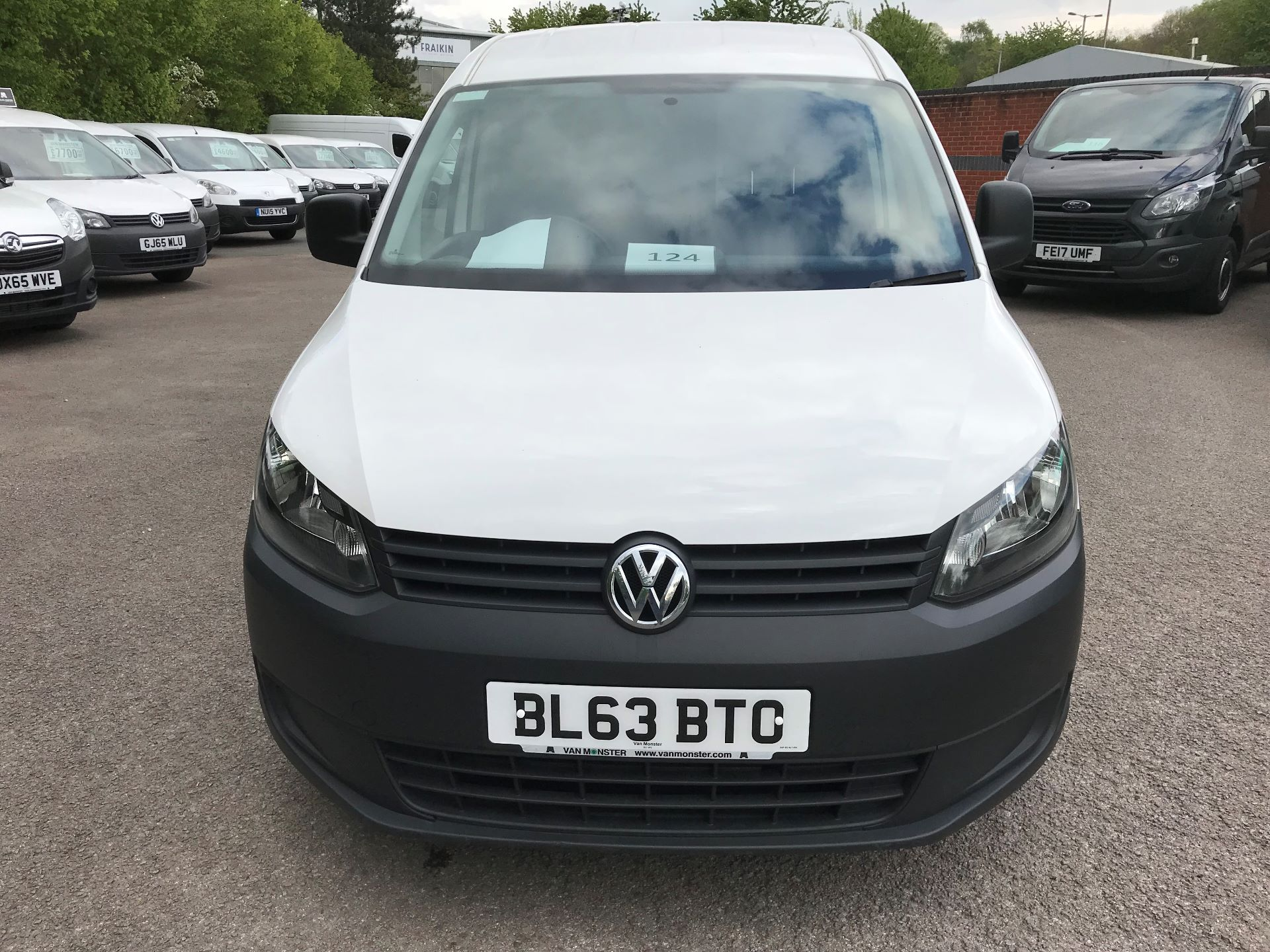 2014 Volkswagen Caddy  2.0 102PS BLUEMOTION TECH 102 STARTLINE Euro 5 (BL63BTO) Thumbnail 18