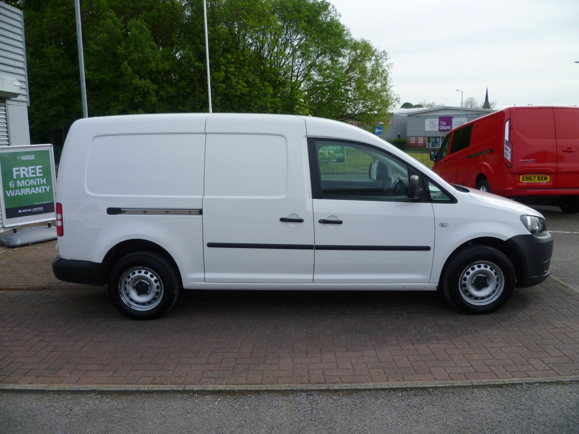 2014 Volkswagen Caddy 1.6 BLUEMOTION 102PS STARTLINE EURO 5 (BL63MGZ) Thumbnail 8