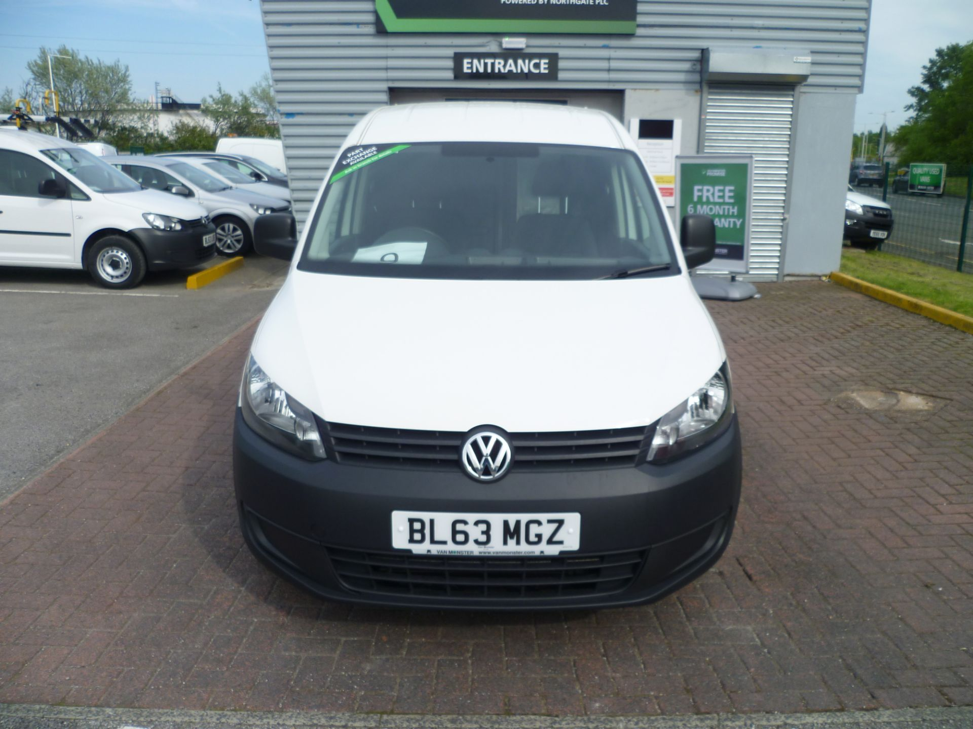 2014 Volkswagen Caddy 1.6 BLUEMOTION 102PS STARTLINE EURO 5 (BL63MGZ) Thumbnail 3