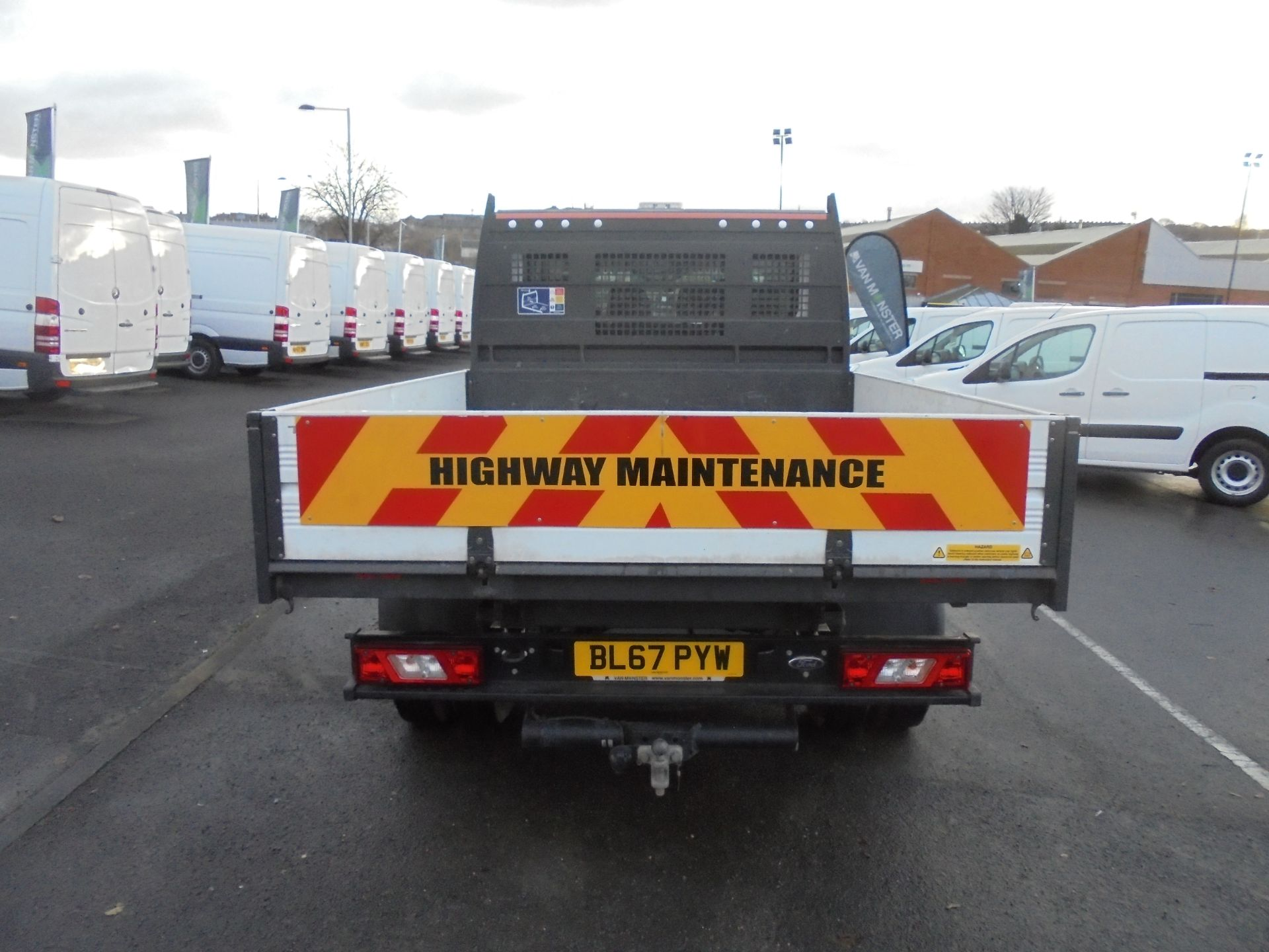 2017 Ford Transit T350 DOUBLE CAB TIPPER 130PS EURO 5 (BL67PYW) Image 6