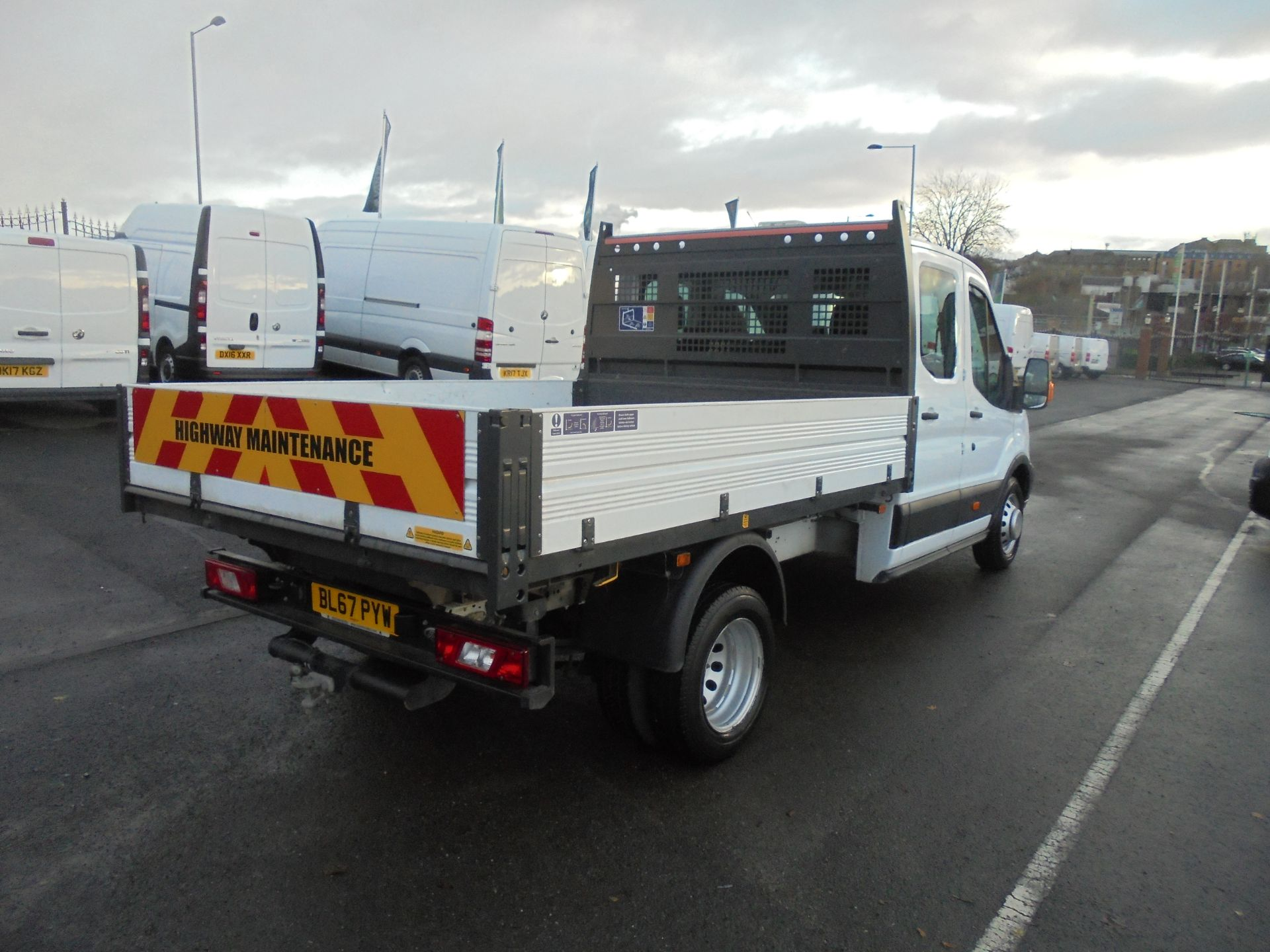 2017 Ford Transit T350 DOUBLE CAB TIPPER 130PS EURO 5 (BL67PYW) Image 7