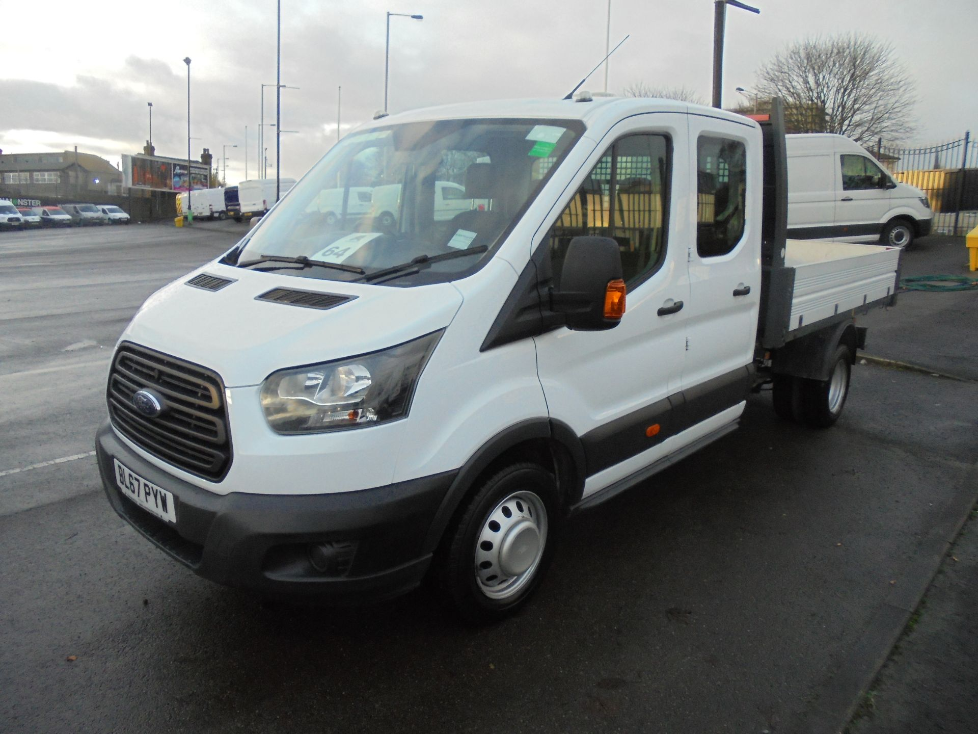 2017 Ford Transit T350 DOUBLE CAB TIPPER 130PS EURO 5 (BL67PYW) Image 3
