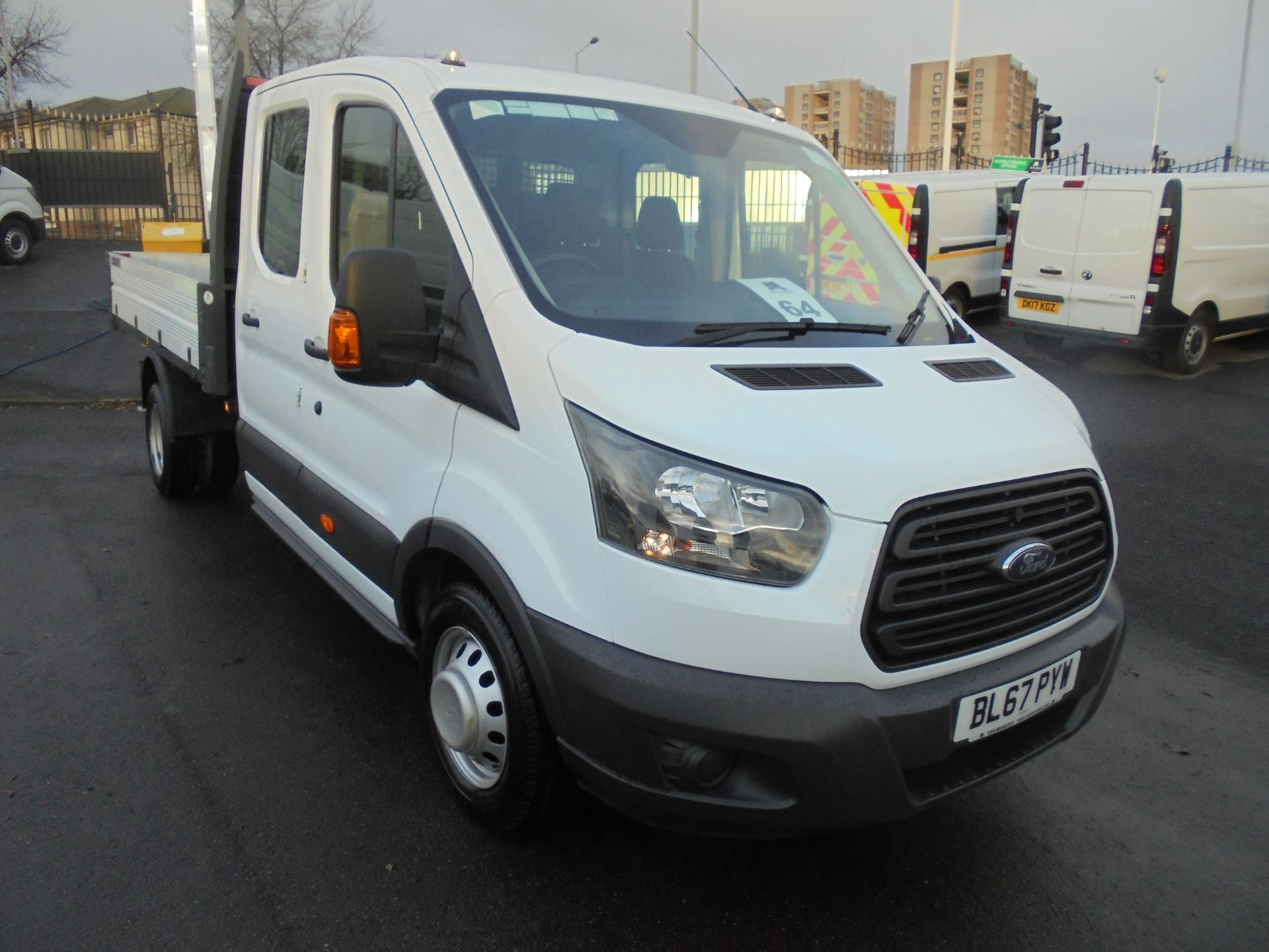 2017 Ford Transit T350 DOUBLE CAB TIPPER 130PS EURO 5 (BL67PYW) Image 1