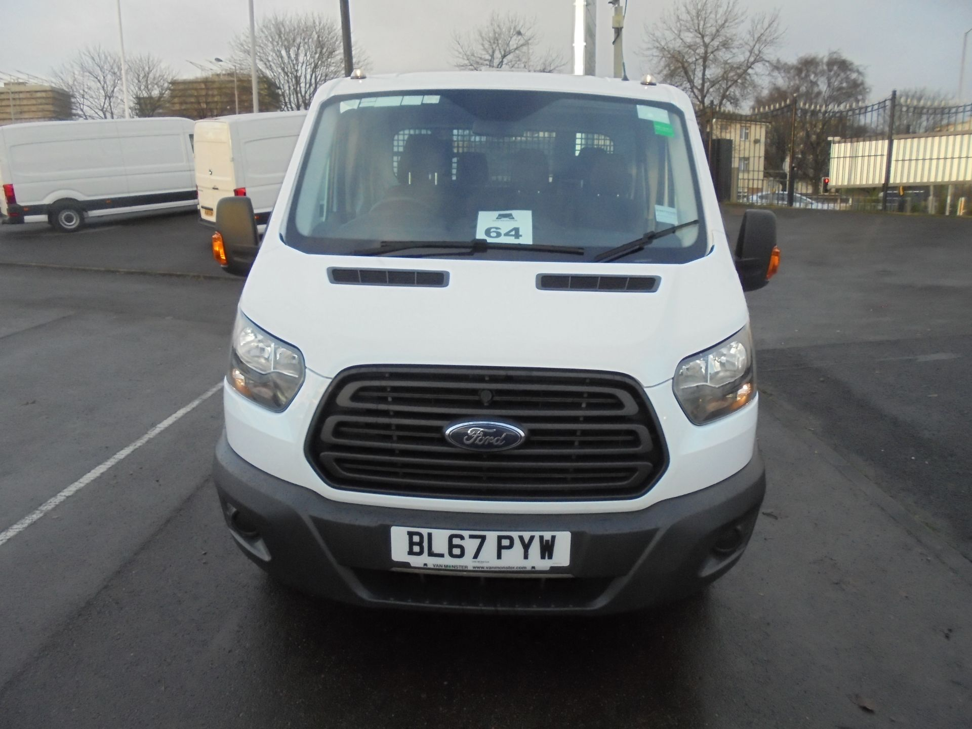 2017 Ford Transit T350 DOUBLE CAB TIPPER 130PS EURO 5 (BL67PYW) Image 2