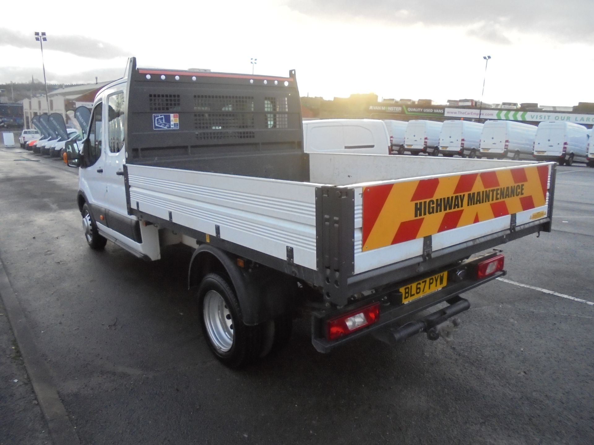 2017 Ford Transit T350 DOUBLE CAB TIPPER 130PS EURO 5 (BL67PYW) Image 5
