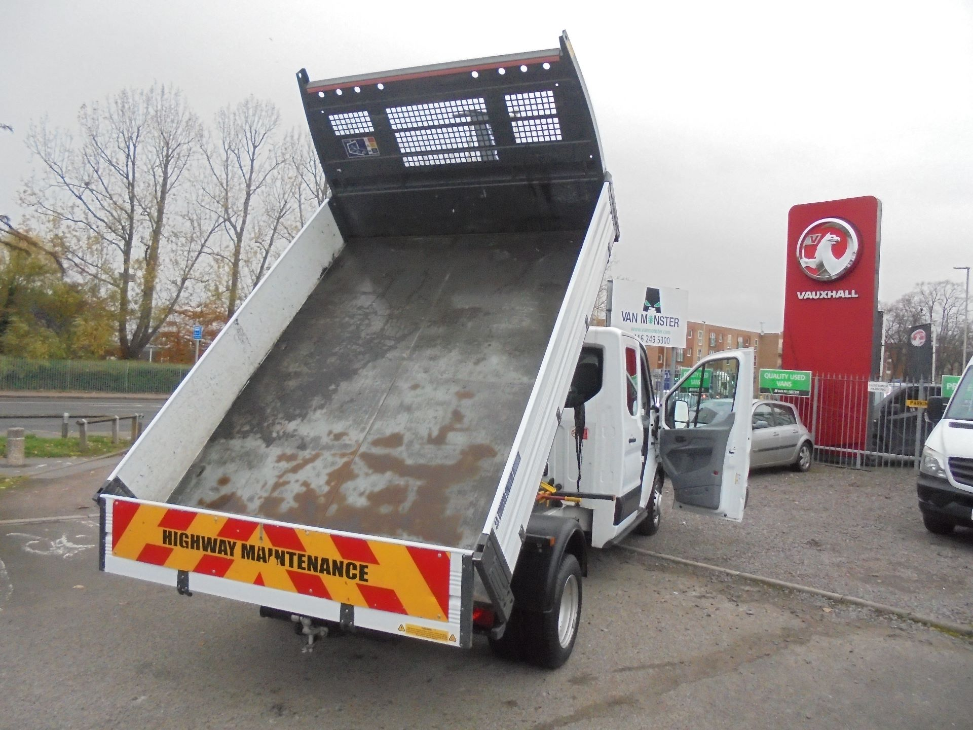 2017 Ford Transit 350 L3 DOUBLE CAB TIPPER 130PS EURO 5 (BL67PYZ) Image 14