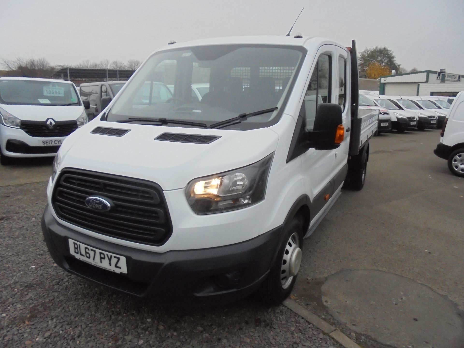 2017 Ford Transit 350 L3 DOUBLE CAB TIPPER 130PS EURO 5 (BL67PYZ) Image 7