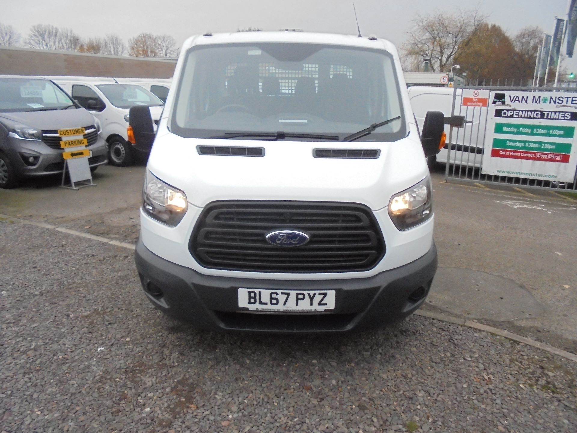 2017 Ford Transit 350 L3 DOUBLE CAB TIPPER 130PS EURO 5 (BL67PYZ) Image 8