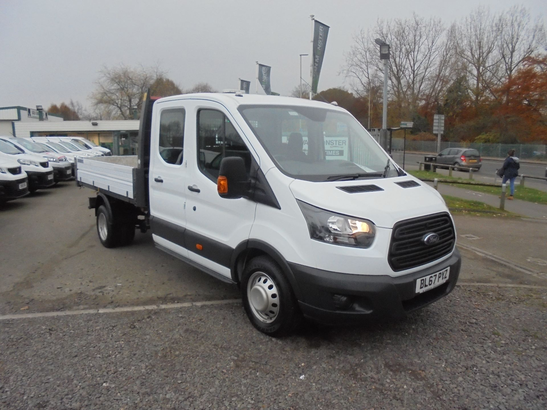 2017 Ford Transit 350 L3 DOUBLE CAB TIPPER 130PS EURO 5 (BL67PYZ) Image 1