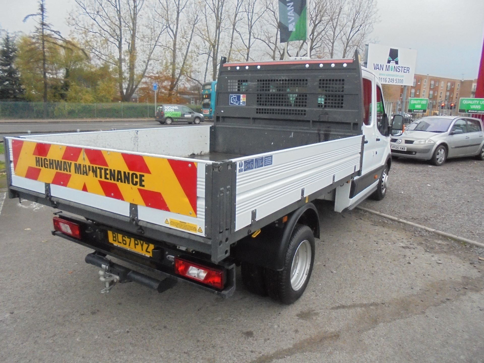 2017 Ford Transit 350 L3 DOUBLE CAB TIPPER 130PS EURO 5 (BL67PYZ) Image 3