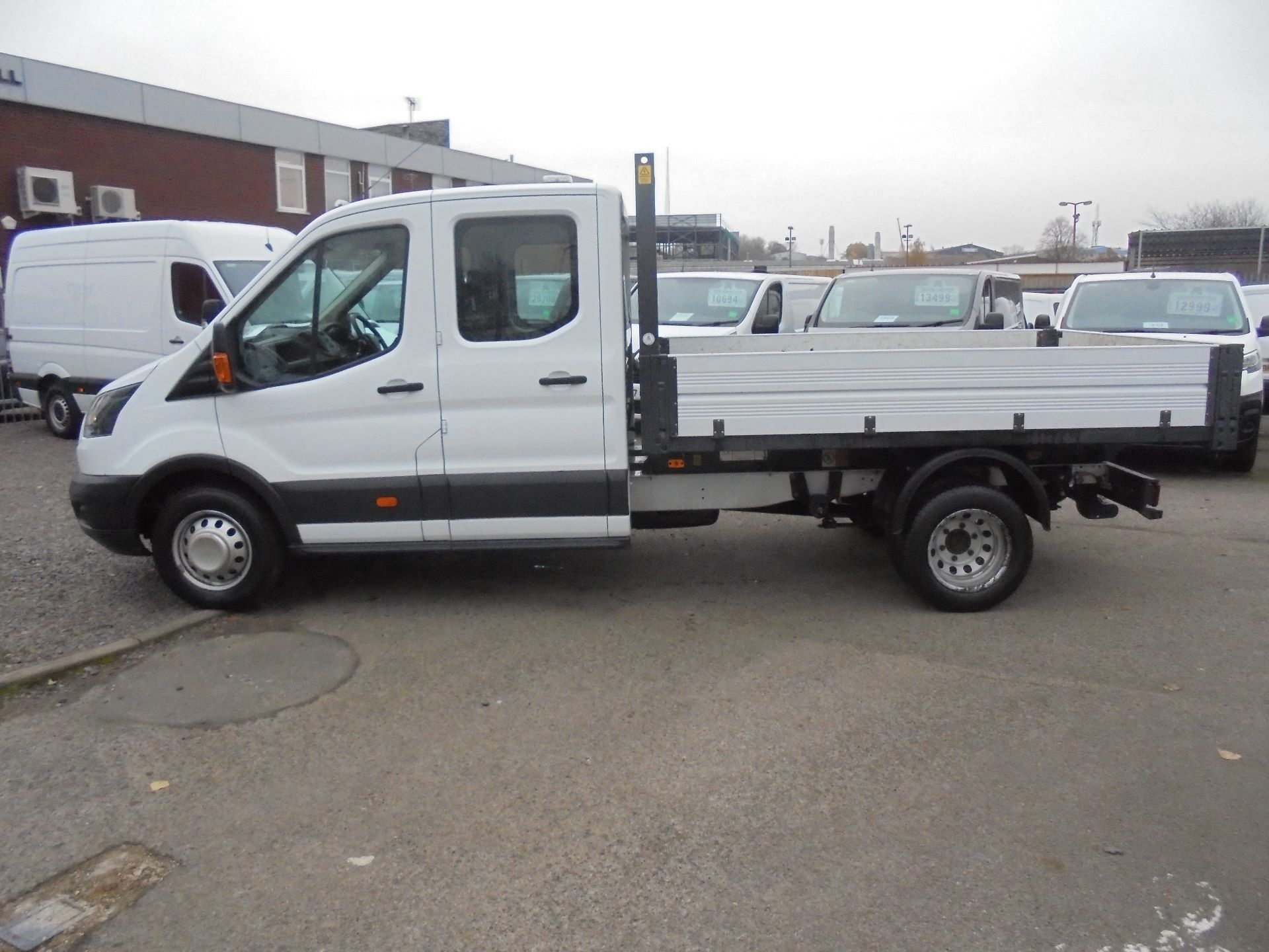 2017 Ford Transit 350 L3 DOUBLE CAB TIPPER 130PS EURO 5 (BL67PYZ) Image 6