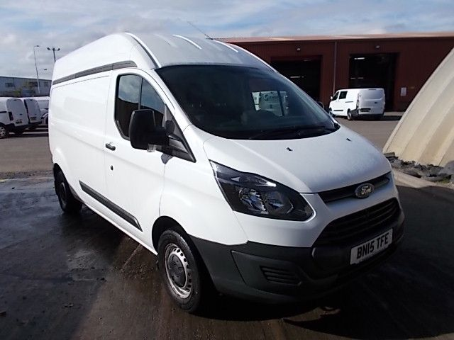 2015 Ford Transit Custom 290 L1 DIESEL FWD 2.2 TDCI 125PS HIGH ROOF VAN EURO 5 (BN15TFE)