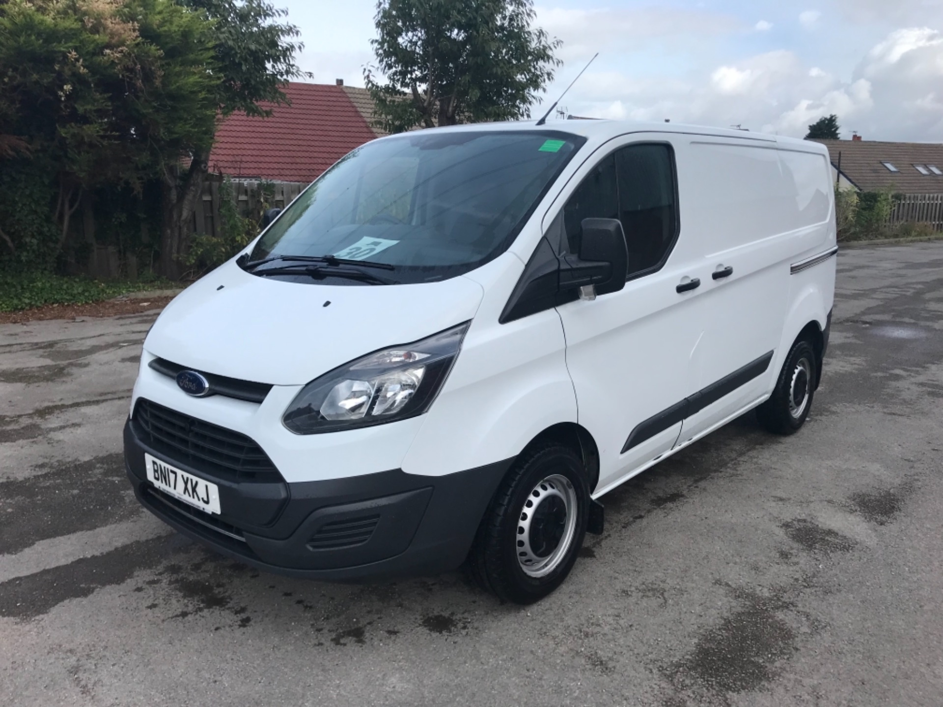 2017 Ford Transit Custom 2.0 Tdci 105Ps Low Roof Van Euro 6 (BN17XKJ) Image 3