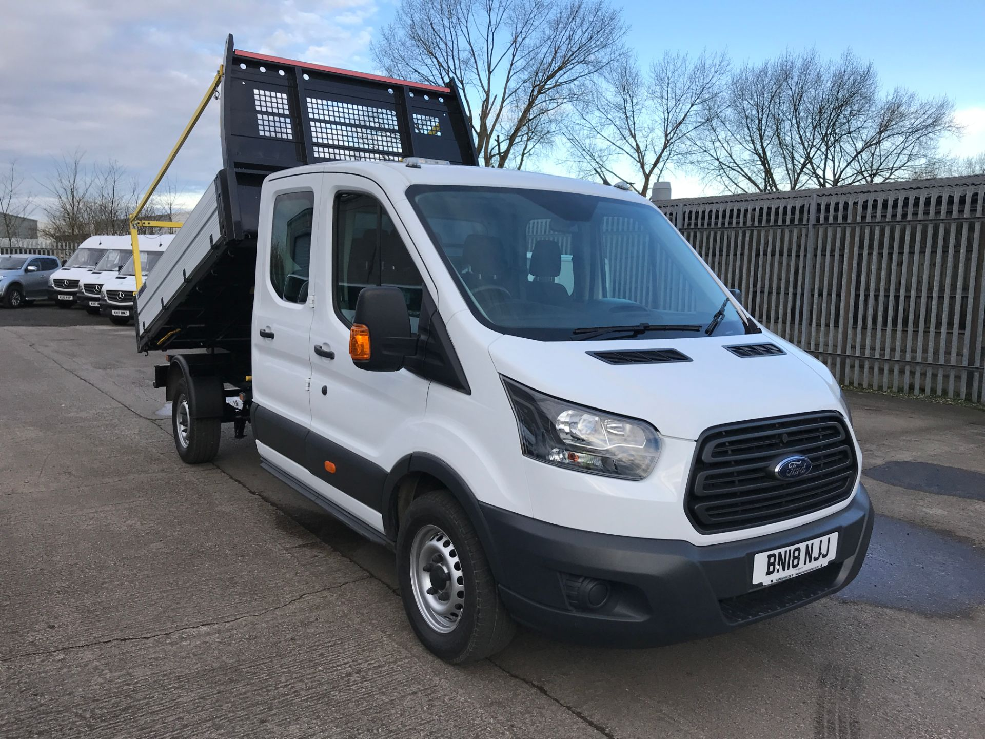2018 Ford Transit T350 DOUBLE CAB TIPPER 130PS EURO 5 (BN18NJJ)