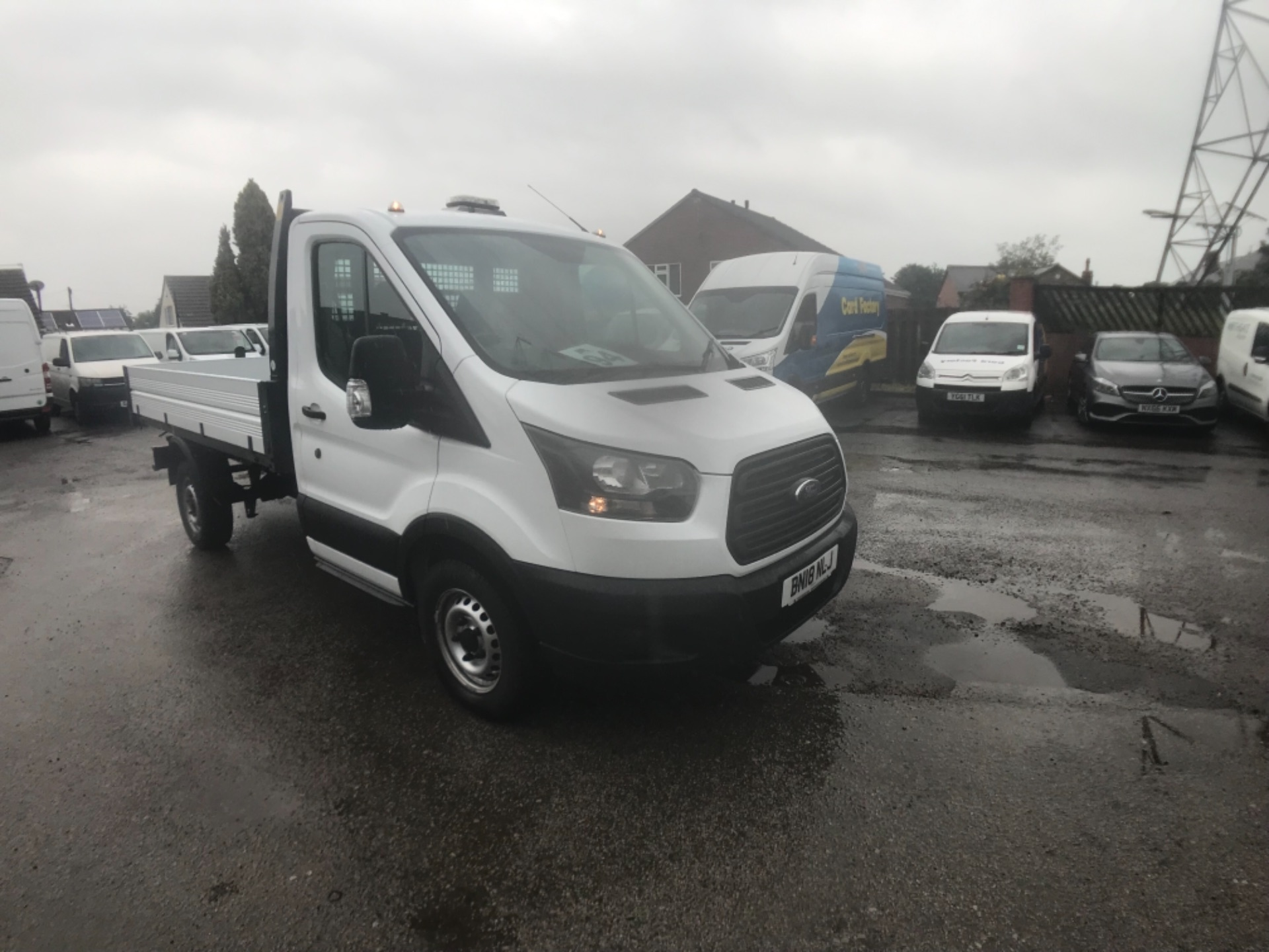 2018 Ford Transit 2.0 Tdci 130Ps 'One Stop' Tipper [1 Way] Single Cab EURO 6 (BN18NLJ)