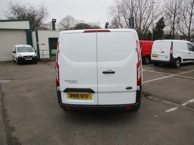 2018 Ford Transit Custom 2.0 Tdci 130Ps Low Roof Van (BN18NTF) Image 4