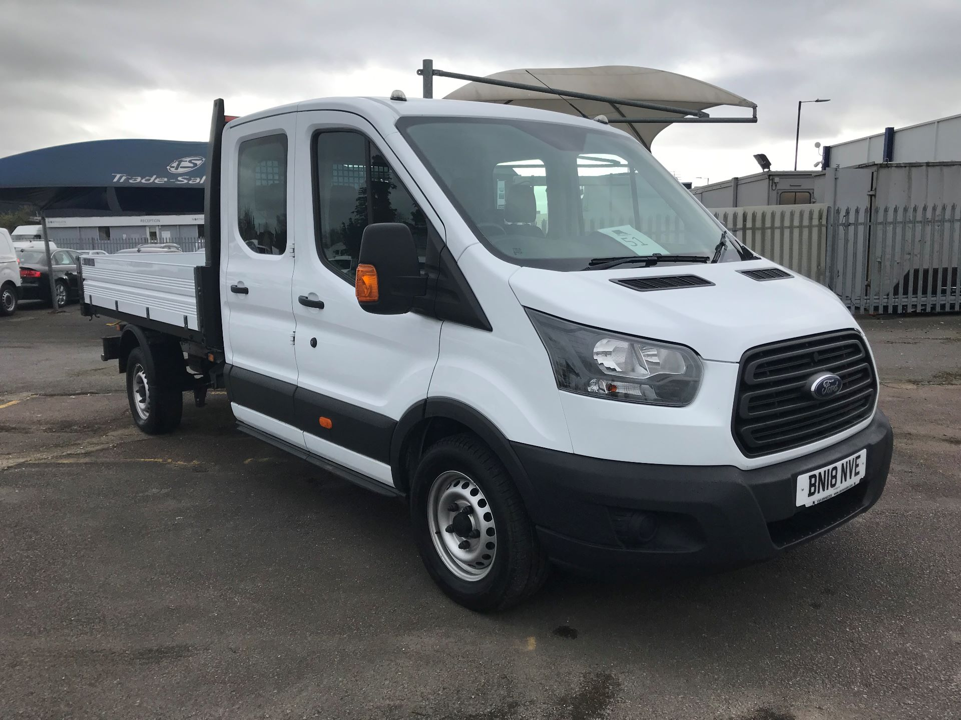 2018 Ford Transit 2.0 TDCi 130ps One Stop D/Cab Tipper [1 Way]