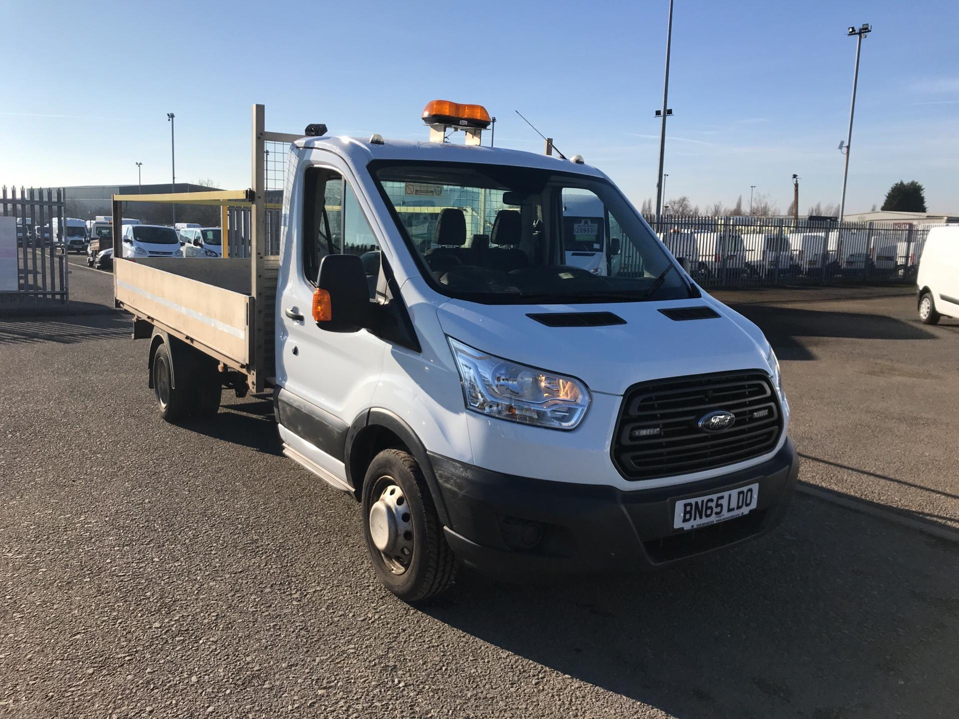 2015 Ford Transit 350 L4 DROP SIDE 125PS EURO 5 (BN65LDO) Thumbnail 1