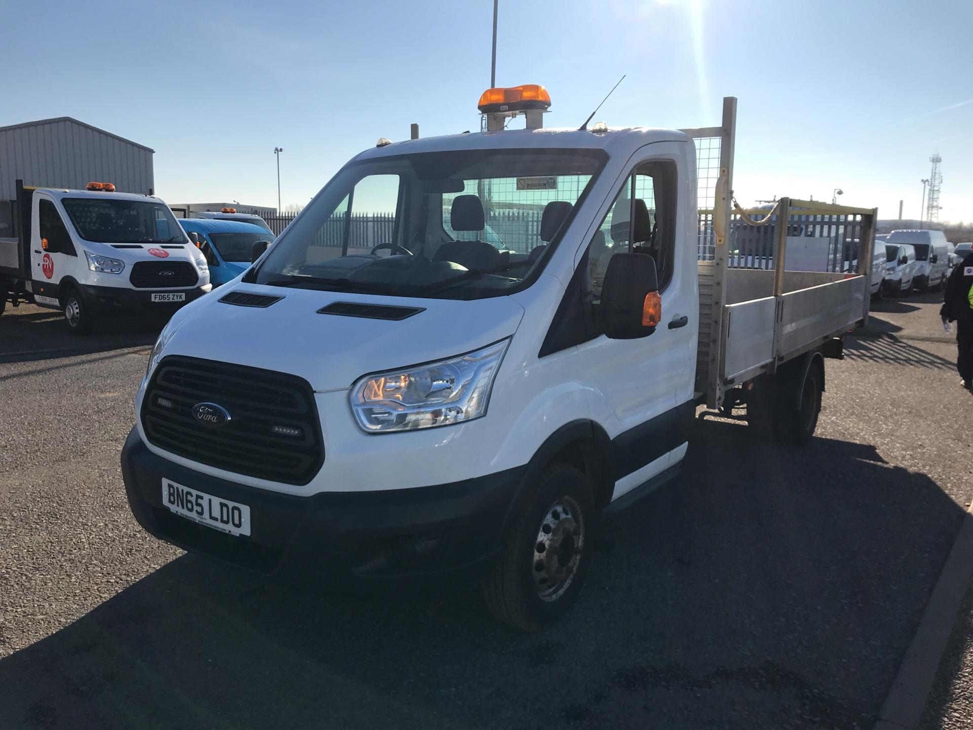 2015 Ford Transit 350 L4 DROP SIDE 125PS EURO 5 (BN65LDO) Image 7