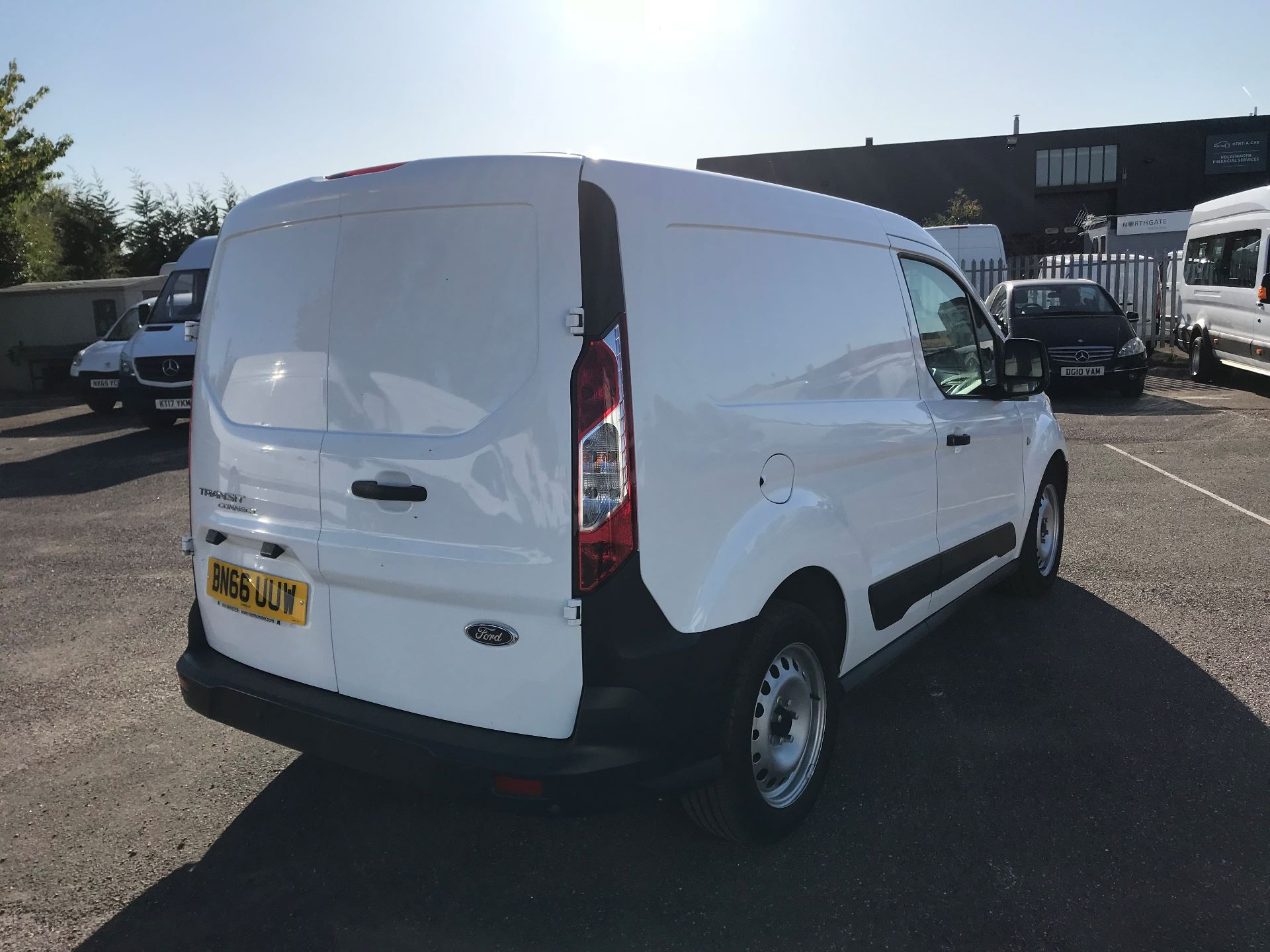2016 Ford Transit Connect  200 L1 1.6 TDCI 75PS EURO 5 (BN66UUW) Image 4