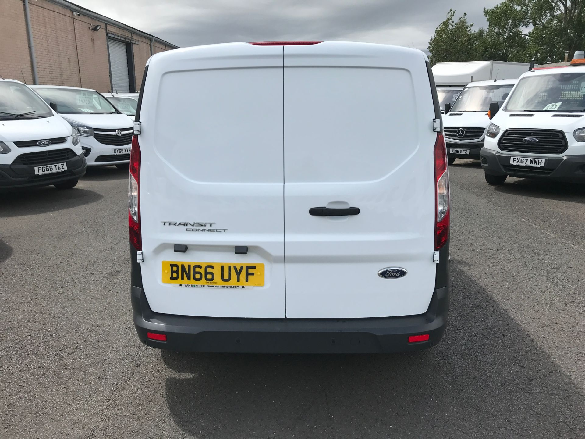 2016 Ford Transit Connect T200 L1 H1 1.5TDCI 75PS EURO 5 (BN66UYF) Image 7