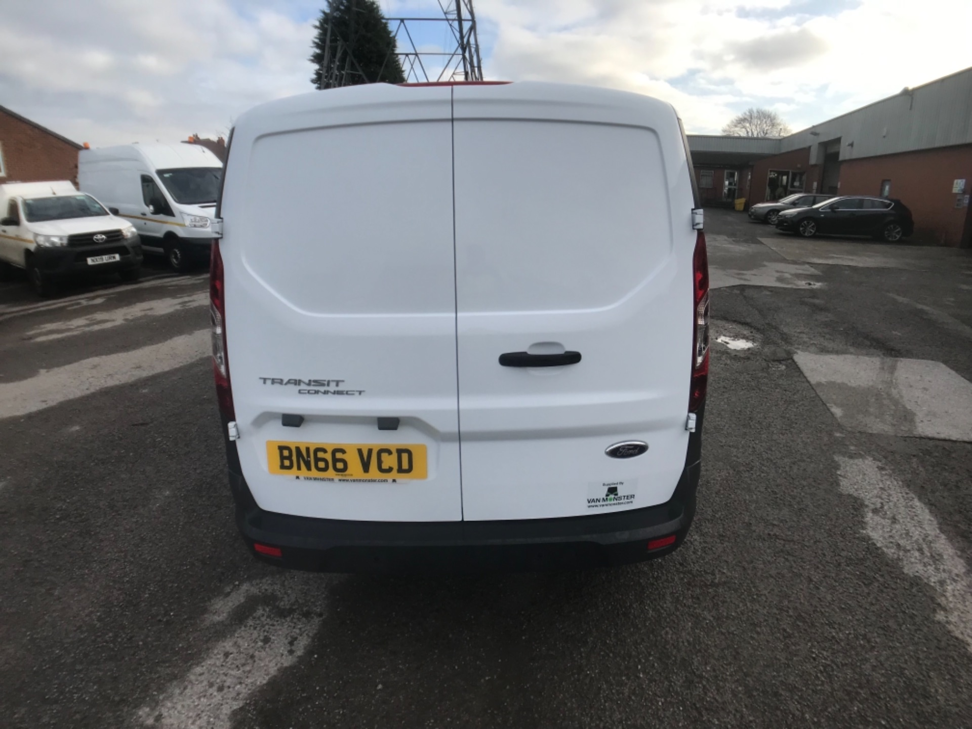 2016 Ford Transit Connect  200 L1 Diesel 1.6 TDCi 75PS Van EURO 5 (BN66VCD) Image 6