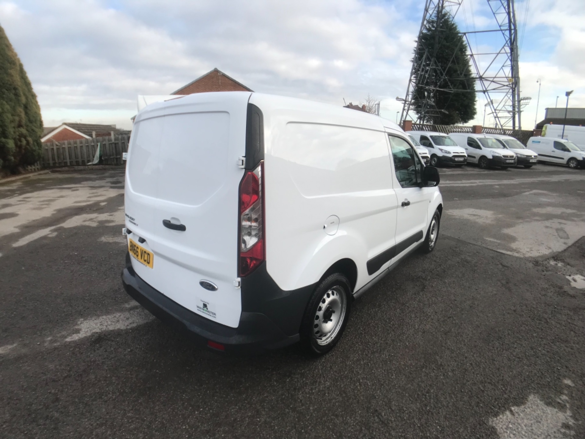 2016 Ford Transit Connect  200 L1 Diesel 1.6 TDCi 75PS Van EURO 5 (BN66VCD) Image 7