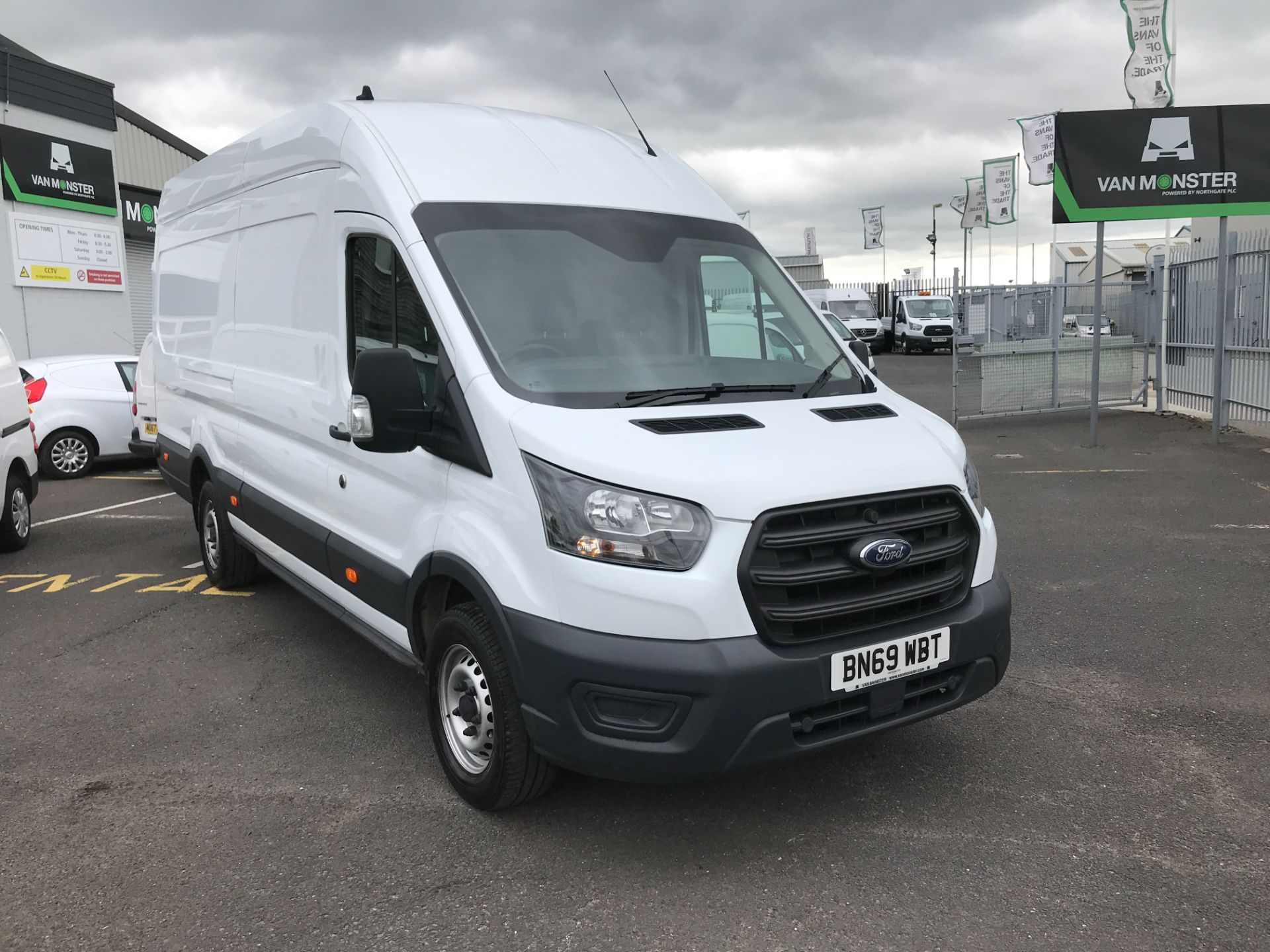2019 Ford Transit T350 L4 H3 JUMBO 2.0TDCI ECOBLUE 130PS LEADER EURO 6 (BN69WBT)