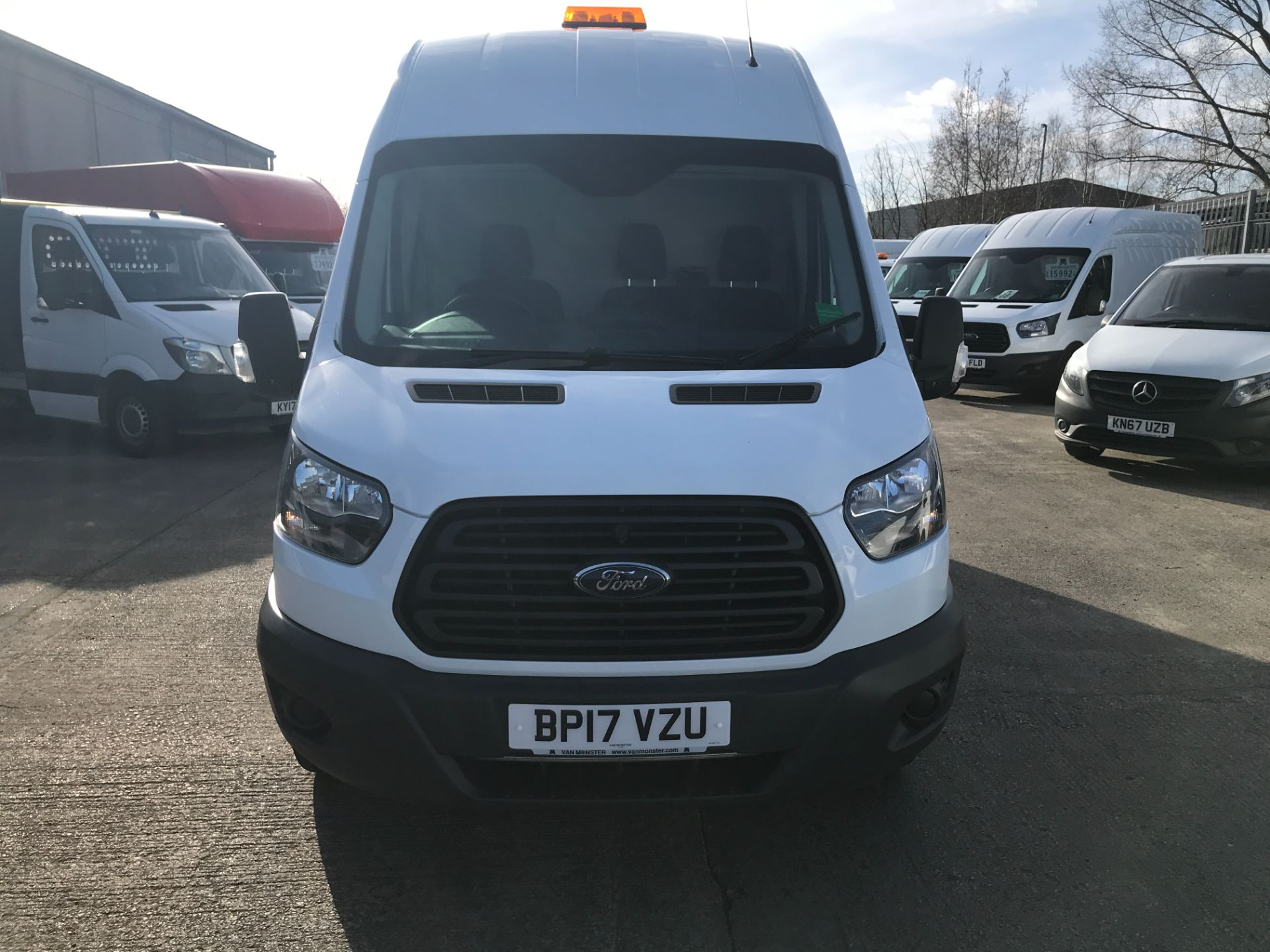 2017 Ford Transit T350 L3 H3 130PS EURO 6  (BP17VZU) Thumbnail 2