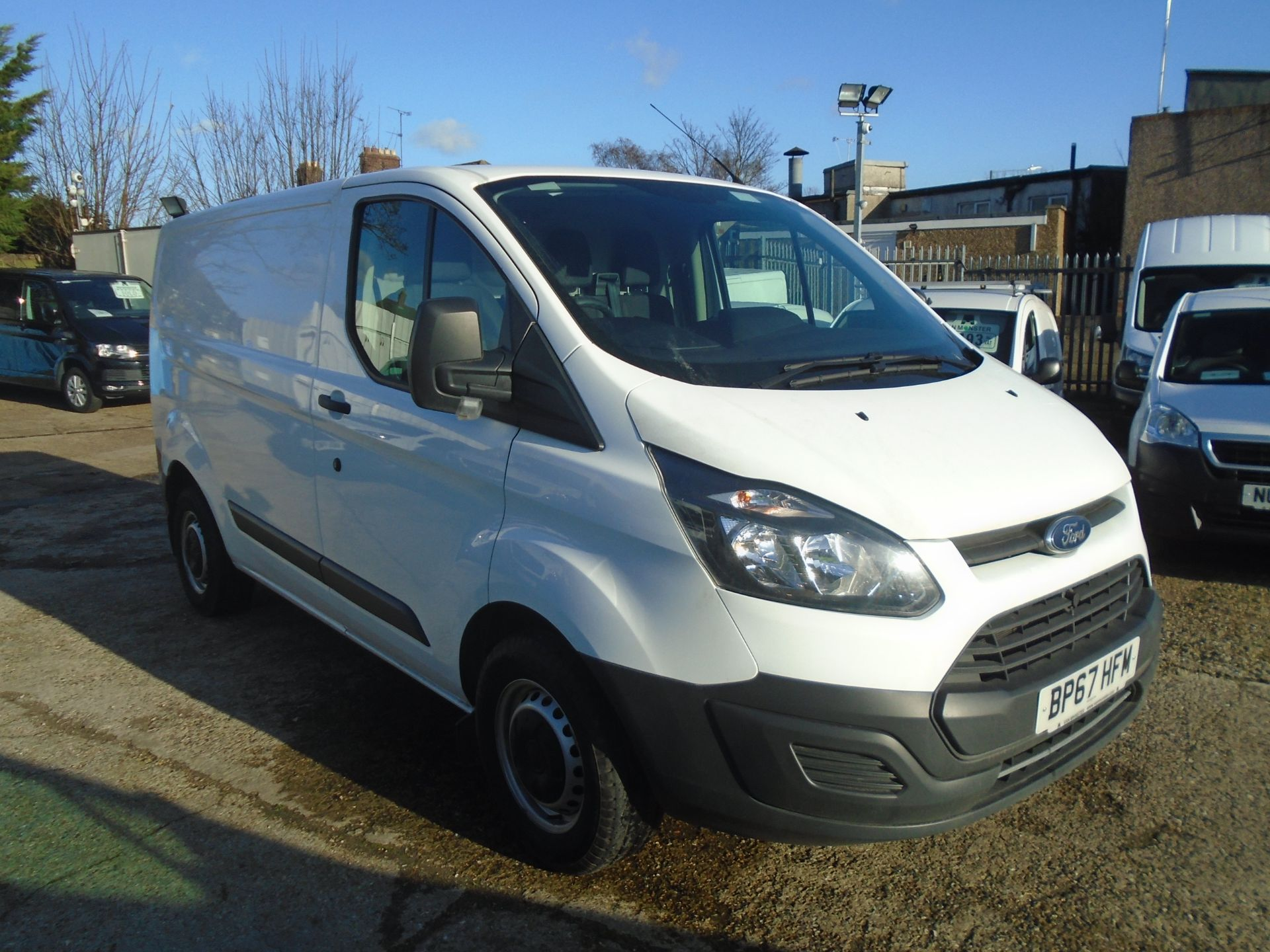 2017 Ford Transit Custom 2.0 Tdci 130Ps Low Roof Van (BP67HFM)