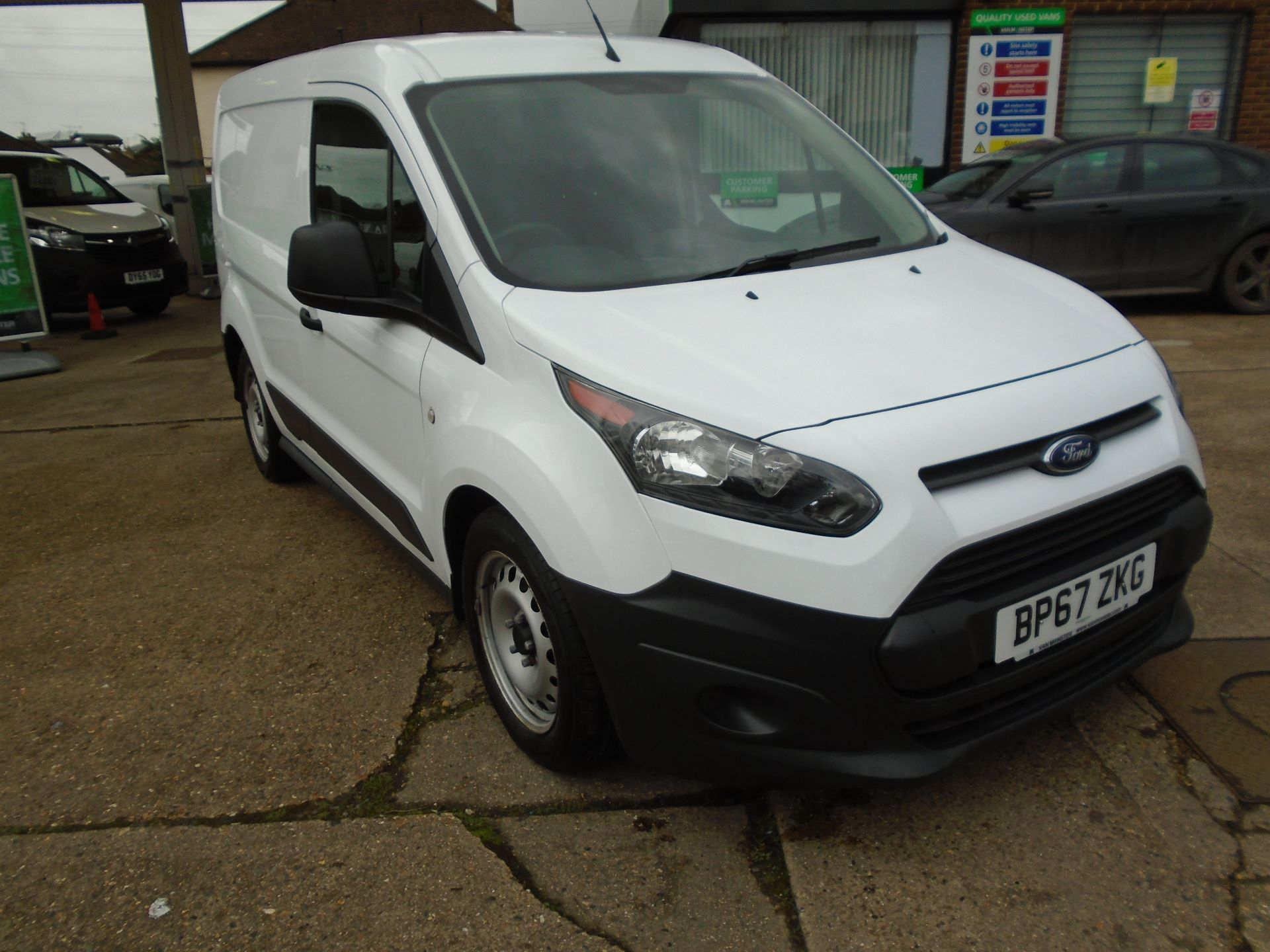 2018 Ford Transit Connect 1.5 Tdci 75Ps Van(EURO 6) (BP67ZKG)