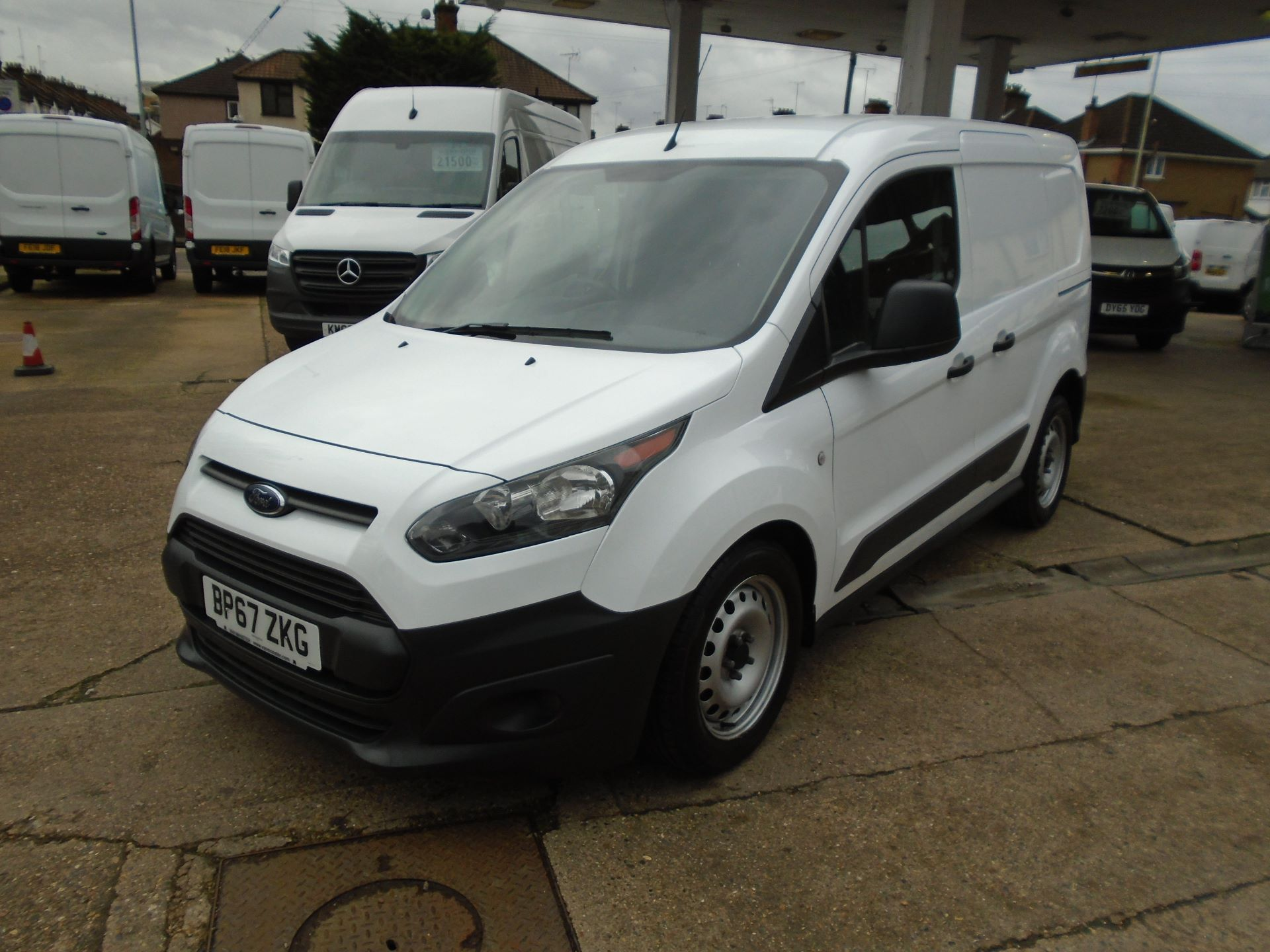 2018 Ford Transit Connect 1.5 Tdci 75Ps Van(EURO 6) (BP67ZKG) Image 3