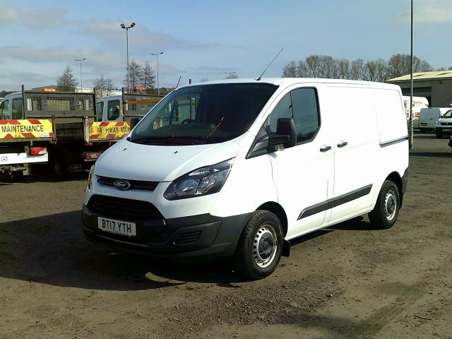 2017 Ford Transit Custom 290 L1 DIESEL FWD 2.0 TDCI 105PS LOW ROOF VAN EURO 6 * SPEED RESTRICTED TO 72 MPH* (BT17YTH) Image 3