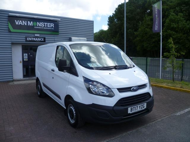 2017 Ford Transit Custom  290 L1 DIESEL FWD 2.0 TDCI 105PS LOW ROOF VAN EURO 6 (BT17YZG)