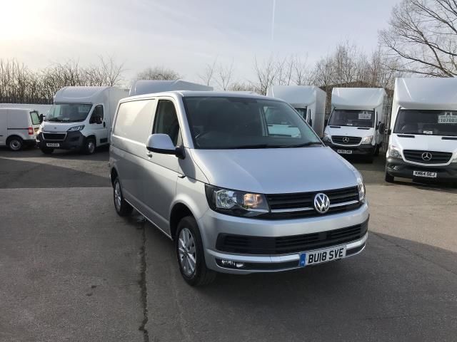 2018 Volkswagen Transporter T28 SWB DIESEL 2.0TDI BMT 150PS HIGHLINE  (BU18SVE)