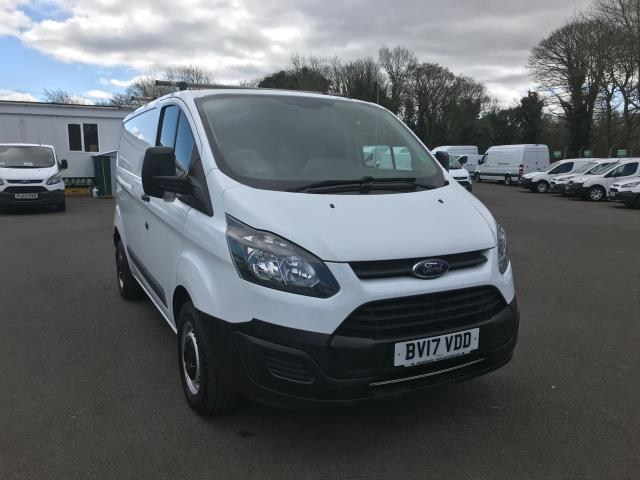 2017 Ford Transit Custom  290 L1 DIESEL FWD 2.0 TDCI 105PS LOW ROOF VAN EURO 6 (BV17VDD) Thumbnail 1