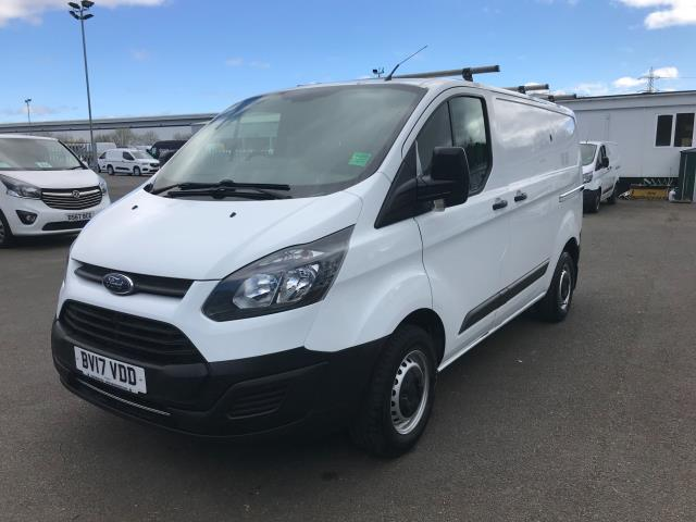2017 Ford Transit Custom  290 L1 DIESEL FWD 2.0 TDCI 105PS LOW ROOF VAN EURO 6 (BV17VDD) Thumbnail 3