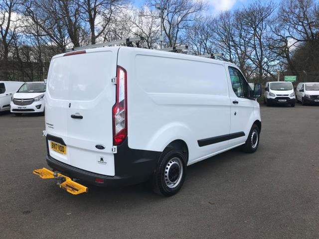 2017 Ford Transit Custom  290 L1 DIESEL FWD 2.0 TDCI 105PS LOW ROOF VAN EURO 6 (BV17VDD) Thumbnail 9