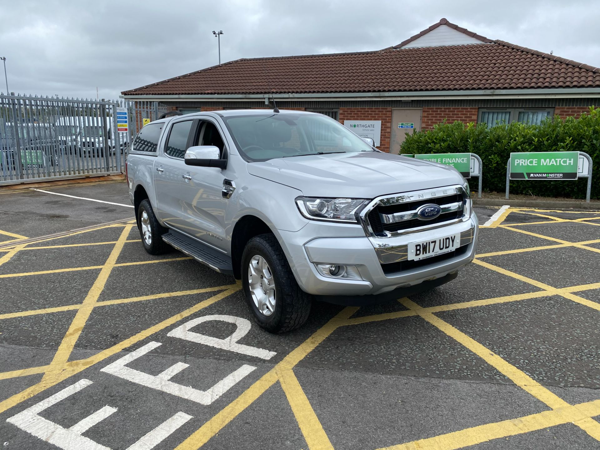 2017 Ford Ranger Pick Up Double Cab Limited 1 2.2 Tdci (BW17UDY)