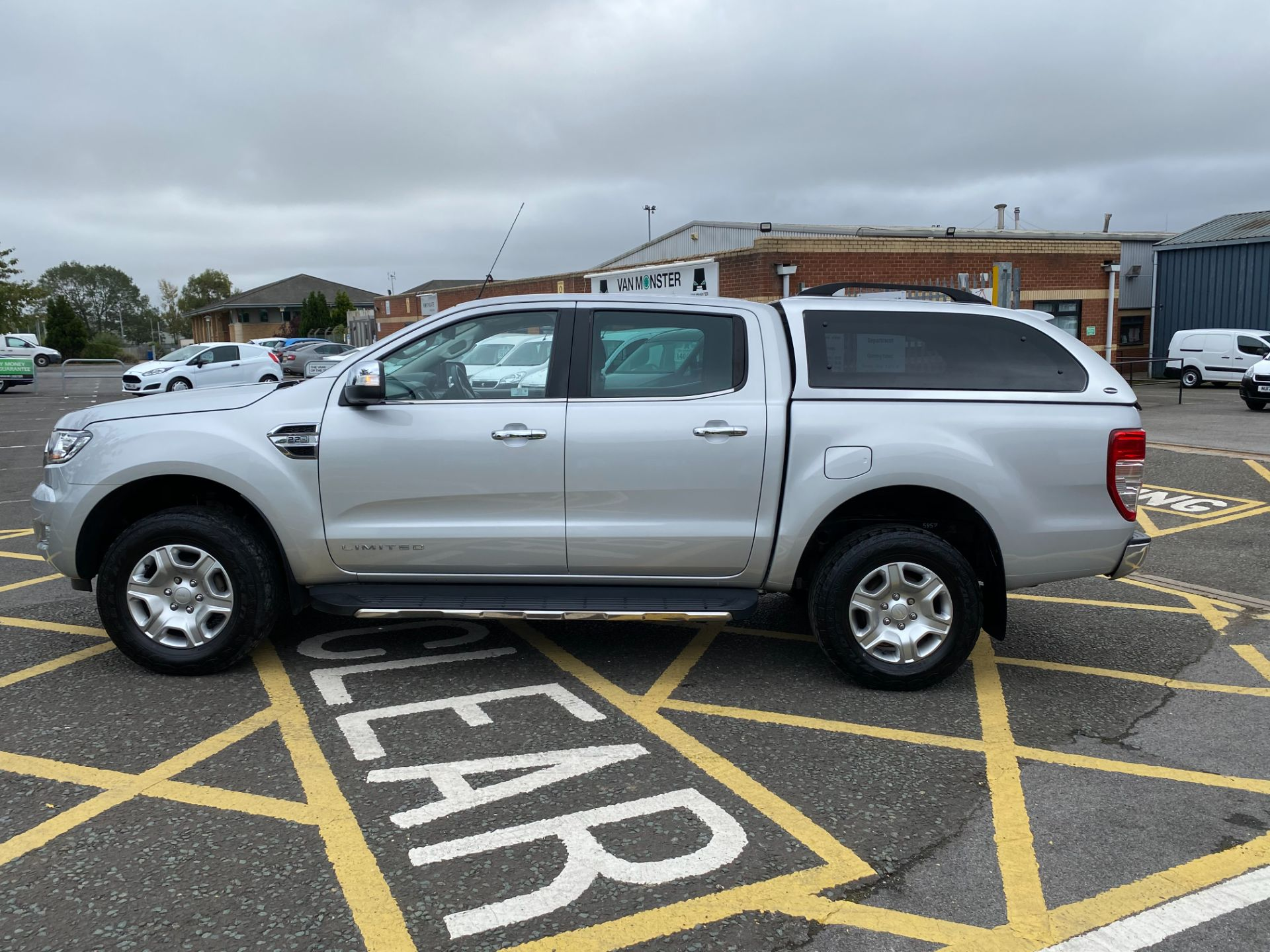 2017 Ford Ranger Pick Up Double Cab Limited 1 2.2 Tdci (BW17UDY) Image 4