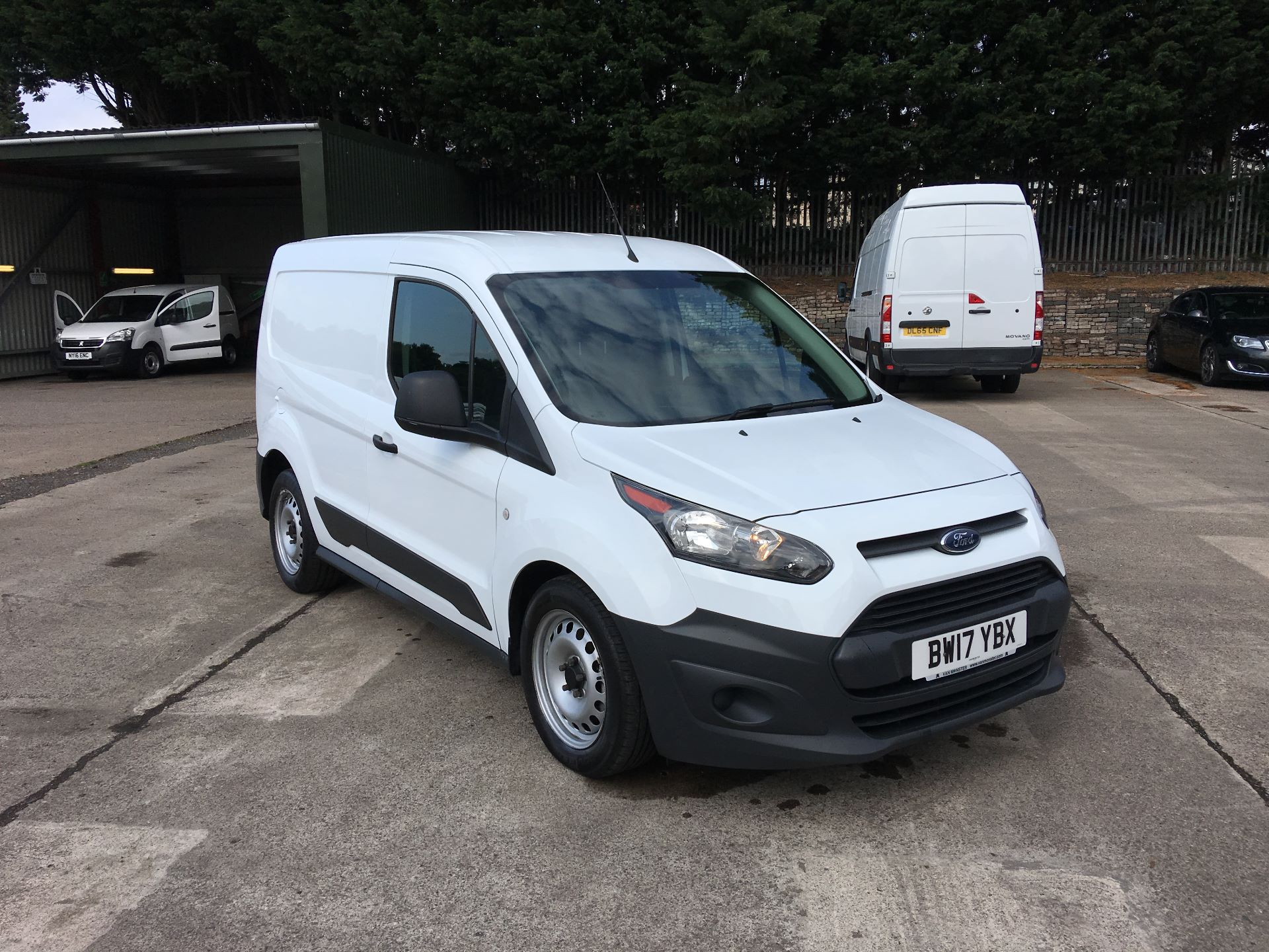2017 Ford Transit Connect 200 L1 DIESEL 1.5 TDCI 75PS VAN EURO 5 (BW17YBX)