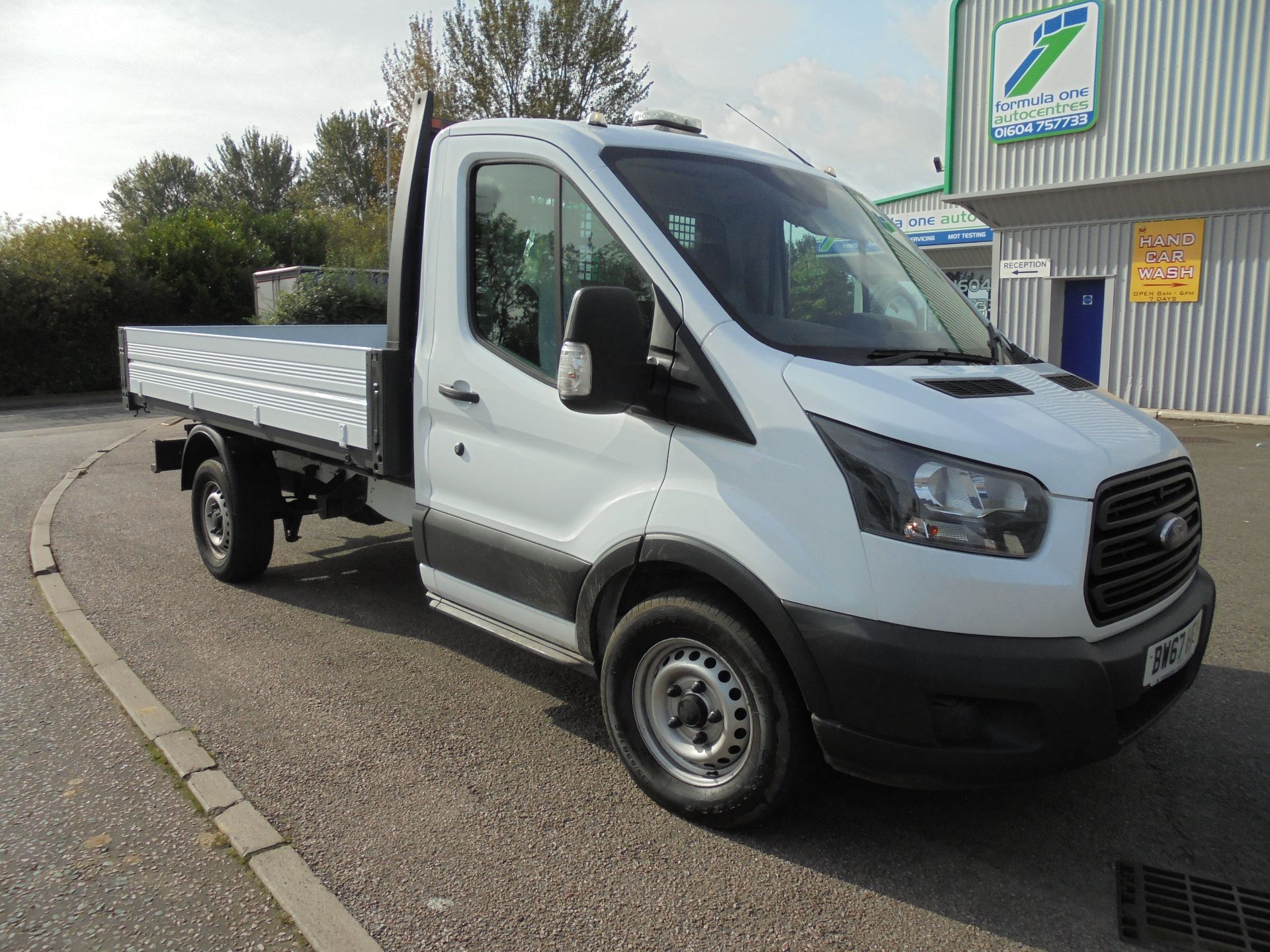 2018 Ford Transit 2.0 Tdci 130Ps One Stop Tipper 1 Way (BW67HFY)
