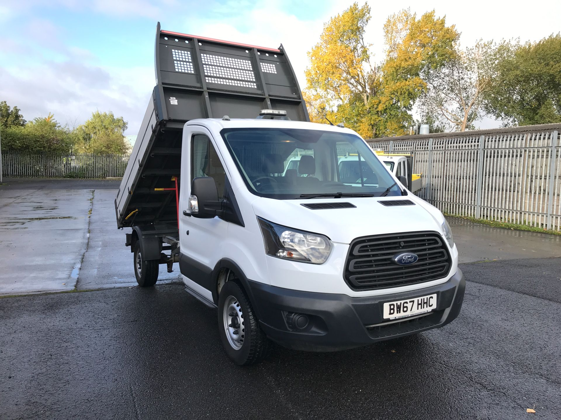 2018 Ford Transit T350 SINGLE CAB TIPPER 130PS EURO 6 (BW67HHC)