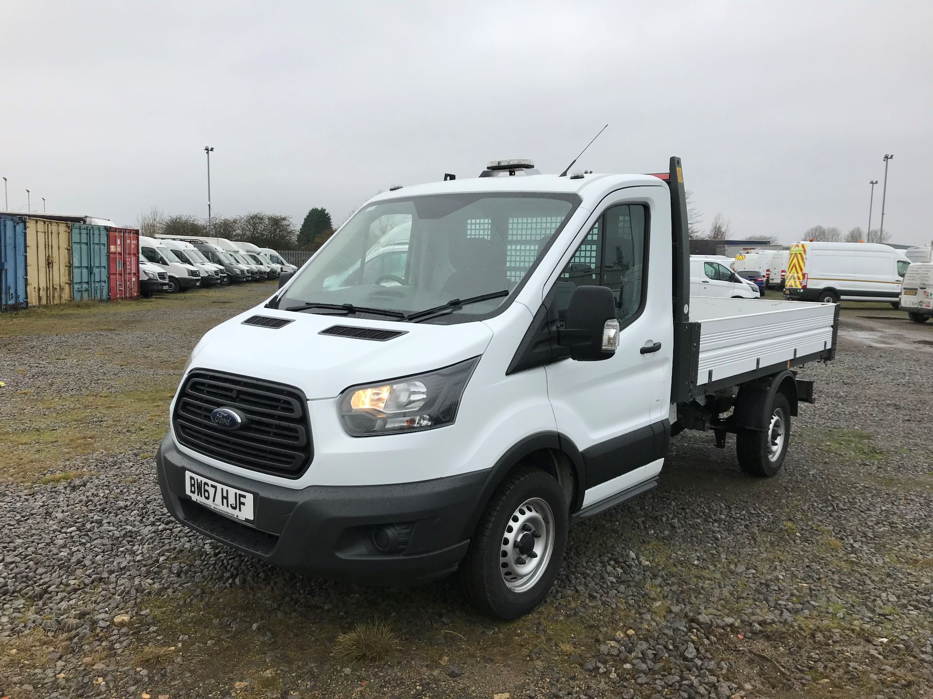 2018 Ford Transit 2.0 Tdci 130Ps One Stop Tipper (BW67HJF) Image 3