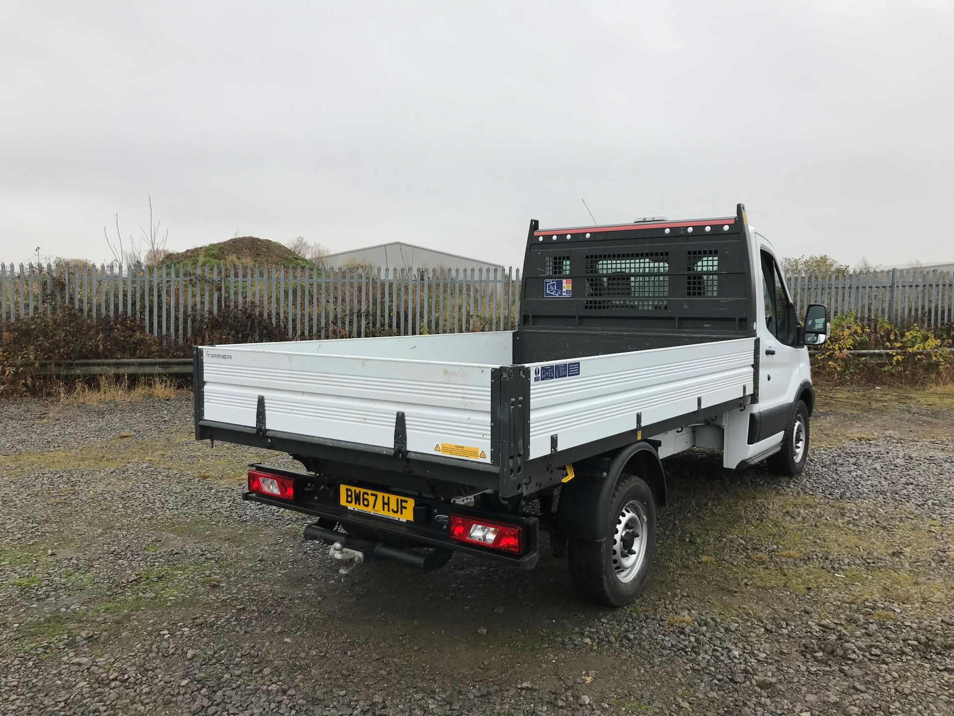2018 Ford Transit 2.0 Tdci 130Ps One Stop Tipper (BW67HJF) Image 7