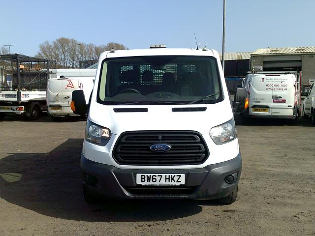 2018 Ford Transit 2.0 Tdci 130PS 'ONE STOP' D/CAB TIPPER [1 Way] (BW67HKZ) Image 2