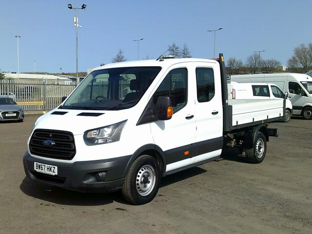 2018 Ford Transit 2.0 Tdci 130PS 'ONE STOP' D/CAB TIPPER [1 Way] (BW67HKZ) Image 3